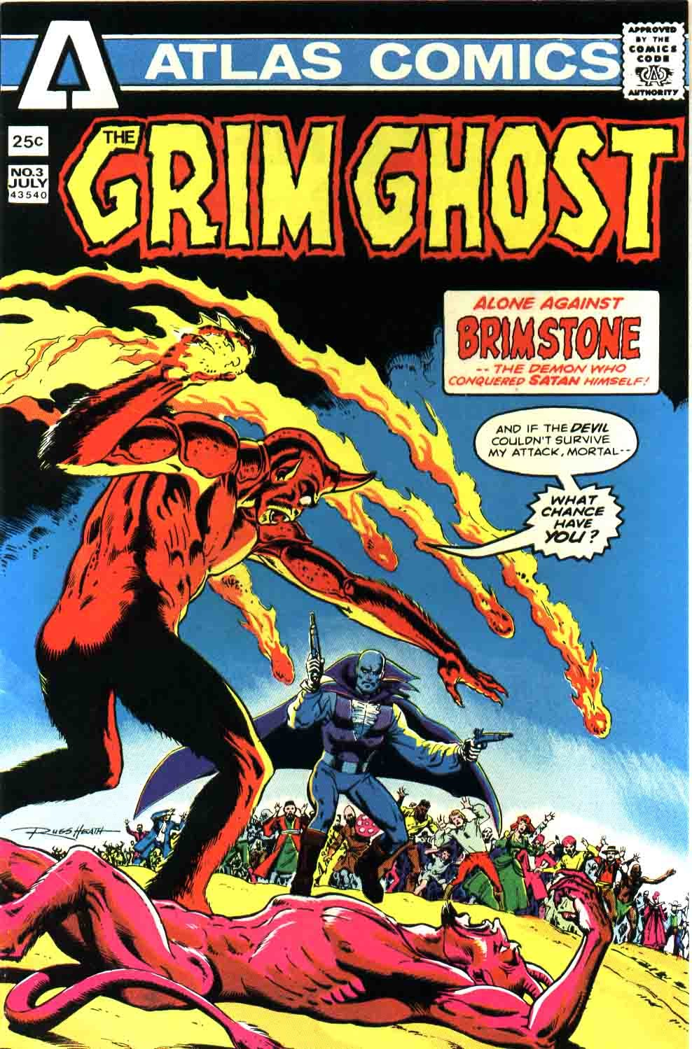 The Grim Ghost (1975) issue 3 - Page 1