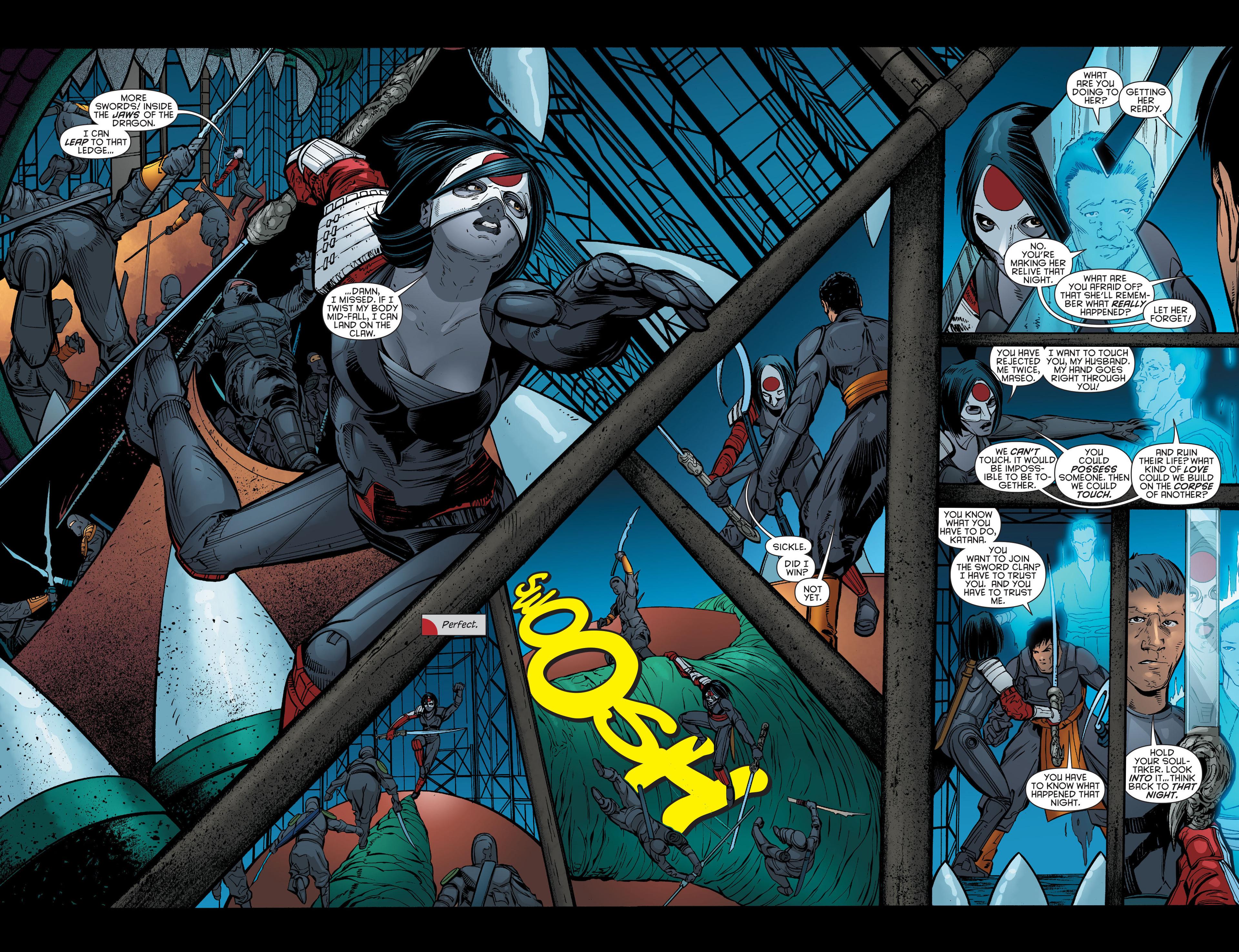 Read online Katana comic -  Issue #7 - 13