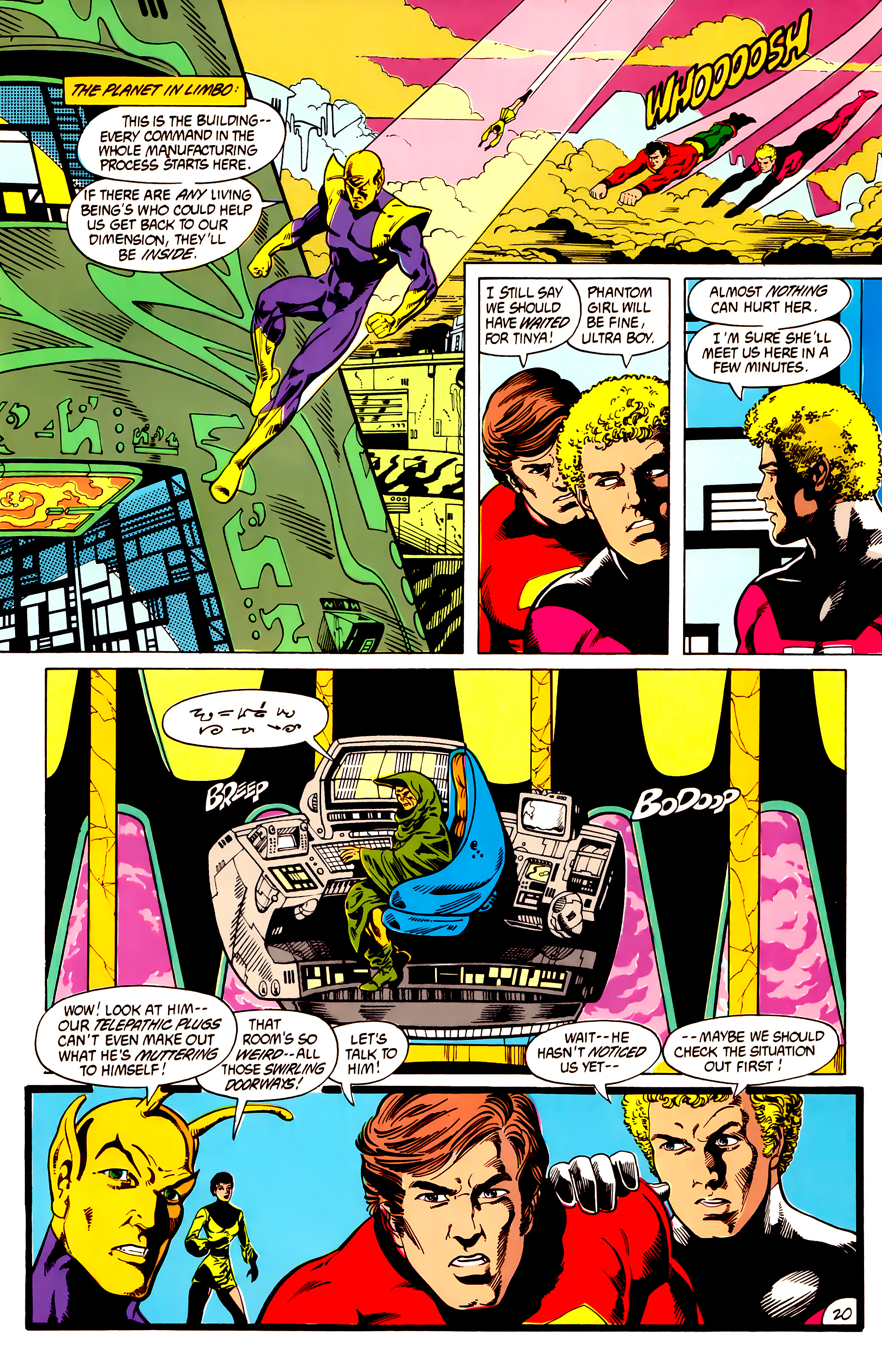 Legion of Super-Heroes (1984) 7 Page 21