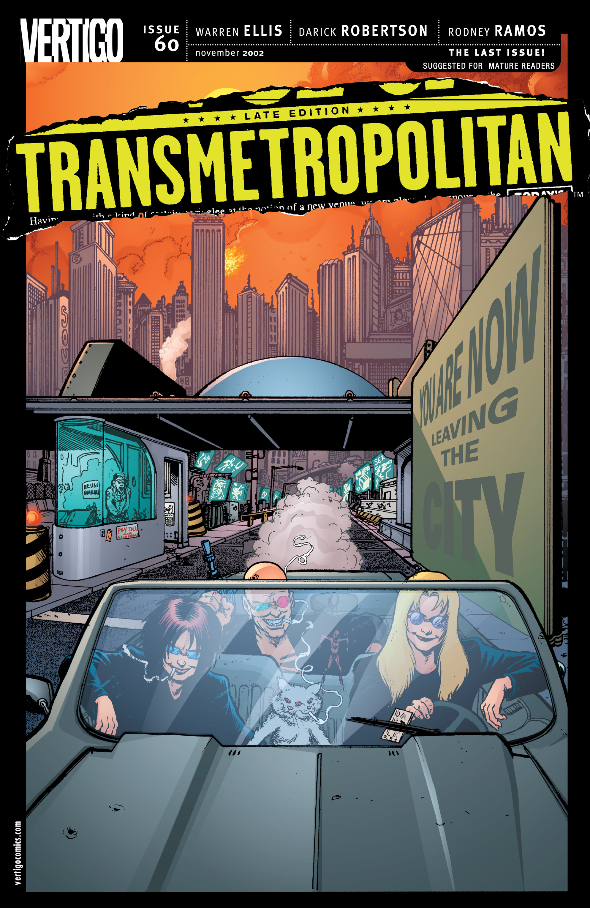 Read online Transmetropolitan comic -  Issue #60 - 1