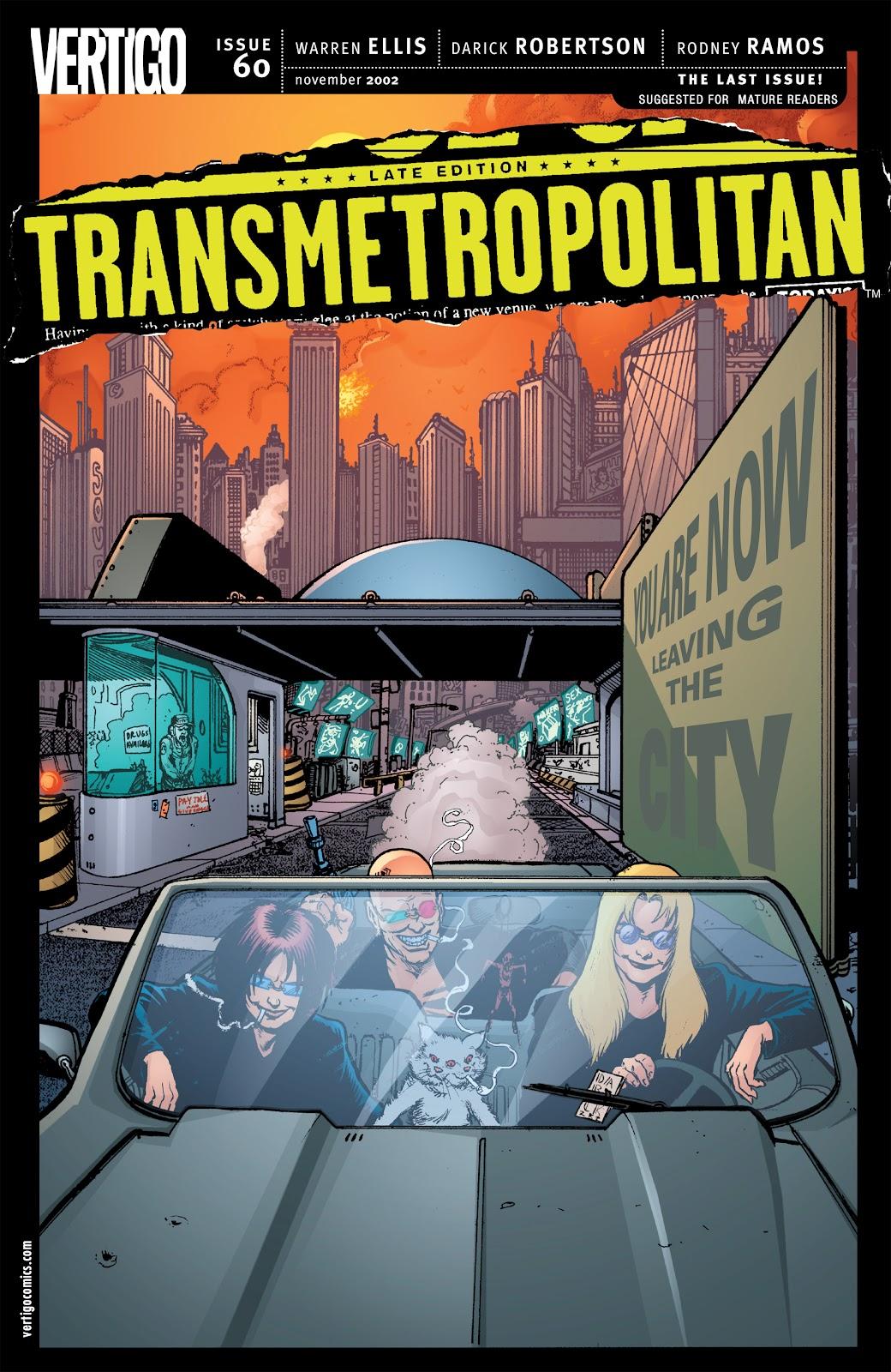 Transmetropolitan 60 Page 1