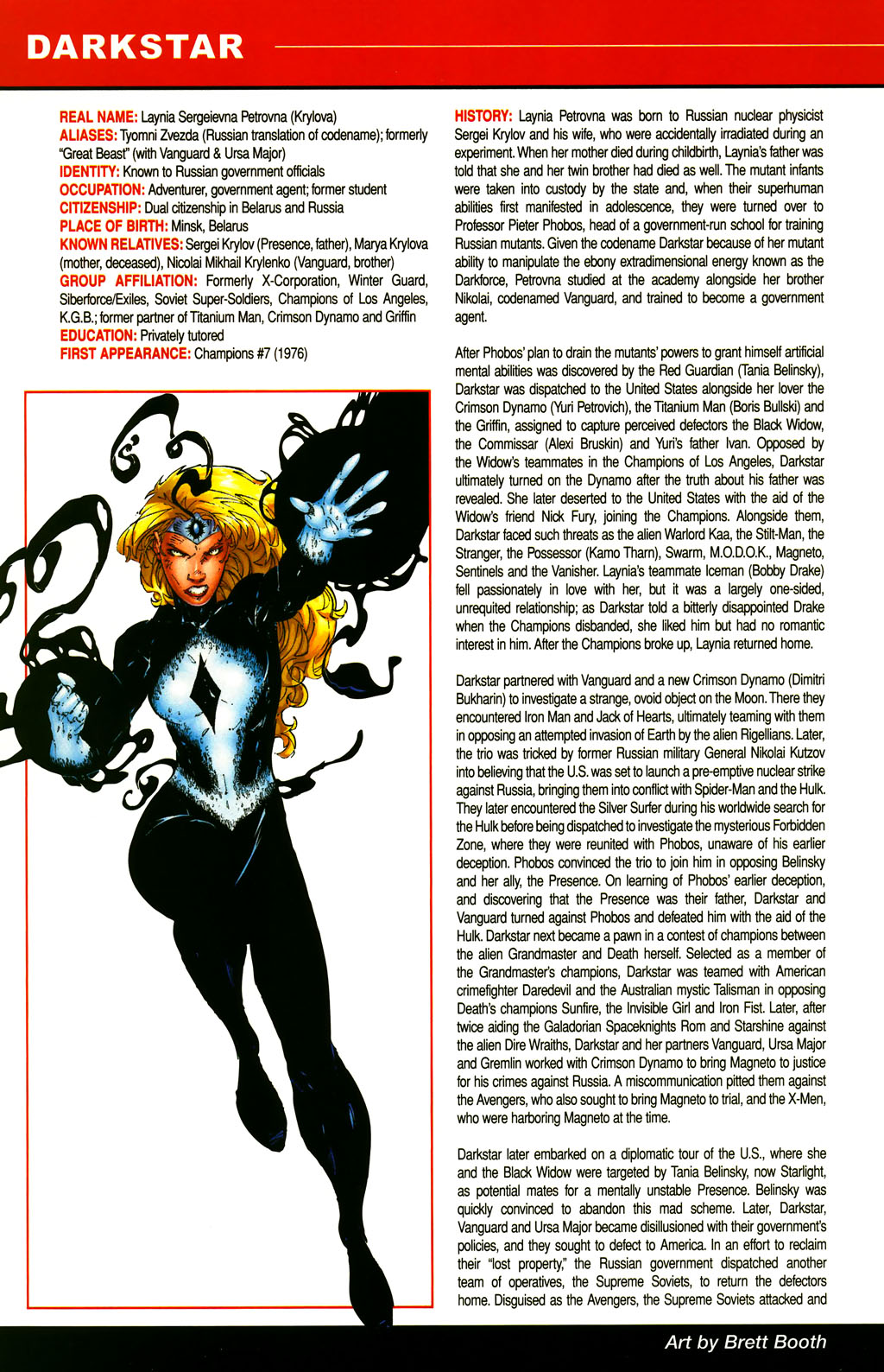 Read online All-New Official Handbook of the Marvel Universe A to Z comic -  Issue #3 - 20