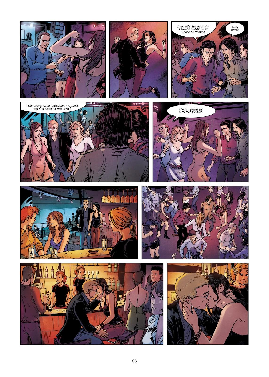 Read online Vigilantes comic -  Issue #2 - 26