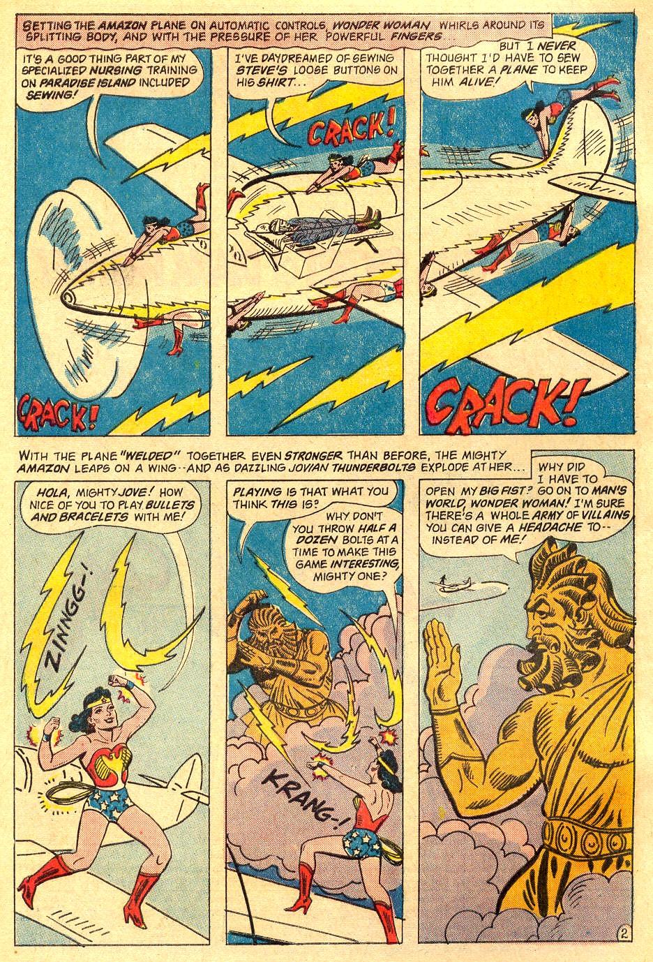 Read online Wonder Woman (1942) comic -  Issue #162 - 4