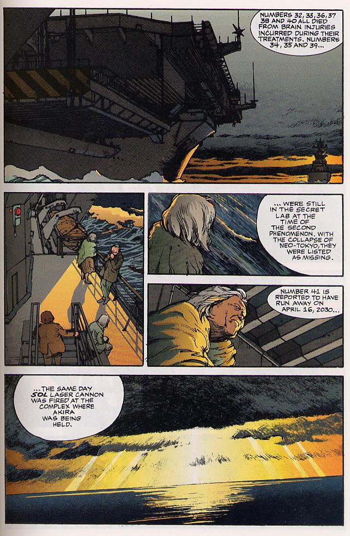 Read online Akira comic -  Issue #24 - 35