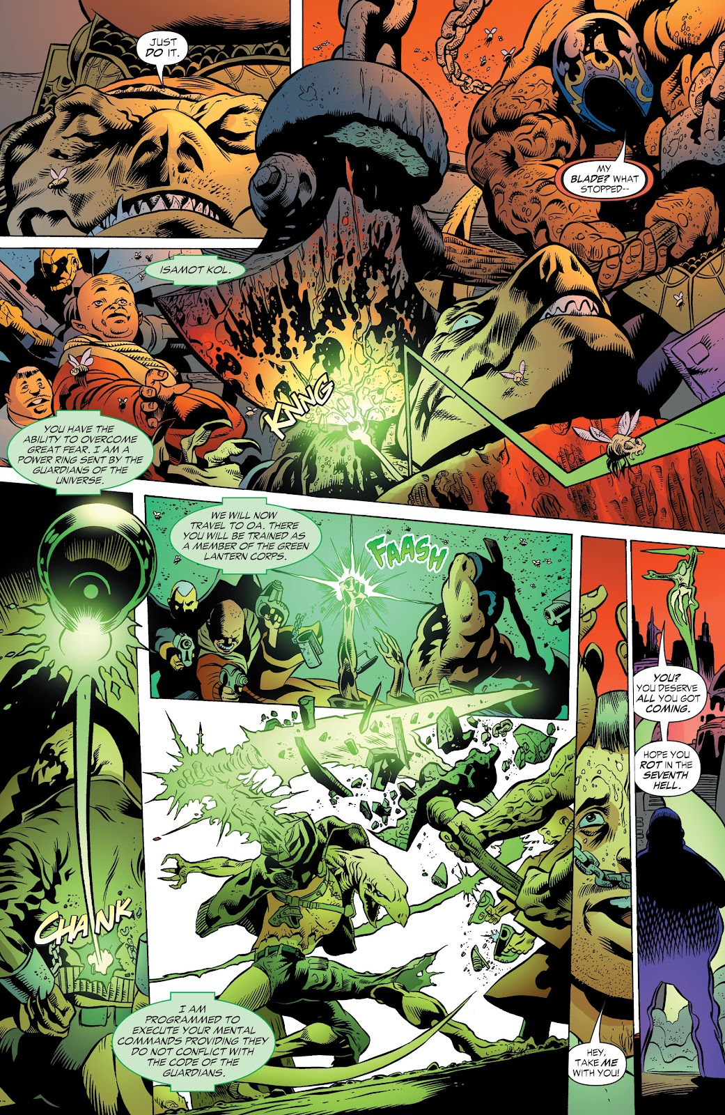 Read online Green Lantern by Geoff Johns comic -  Issue # TPB 1 (Part 2) - 91