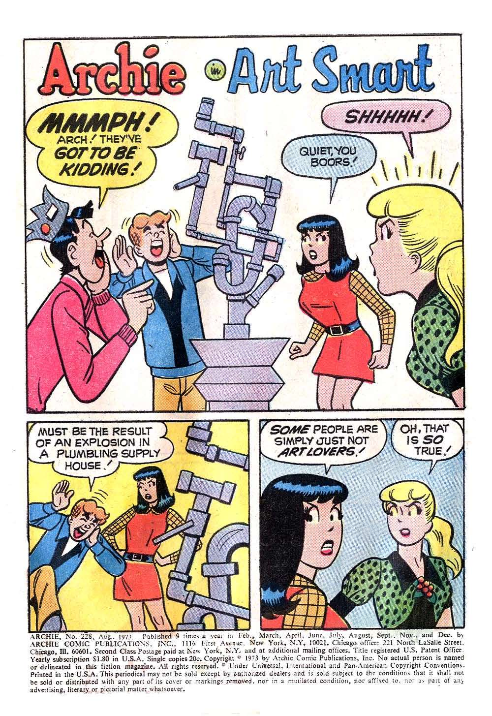 Read online Archie (1960) comic -  Issue #228 - 3