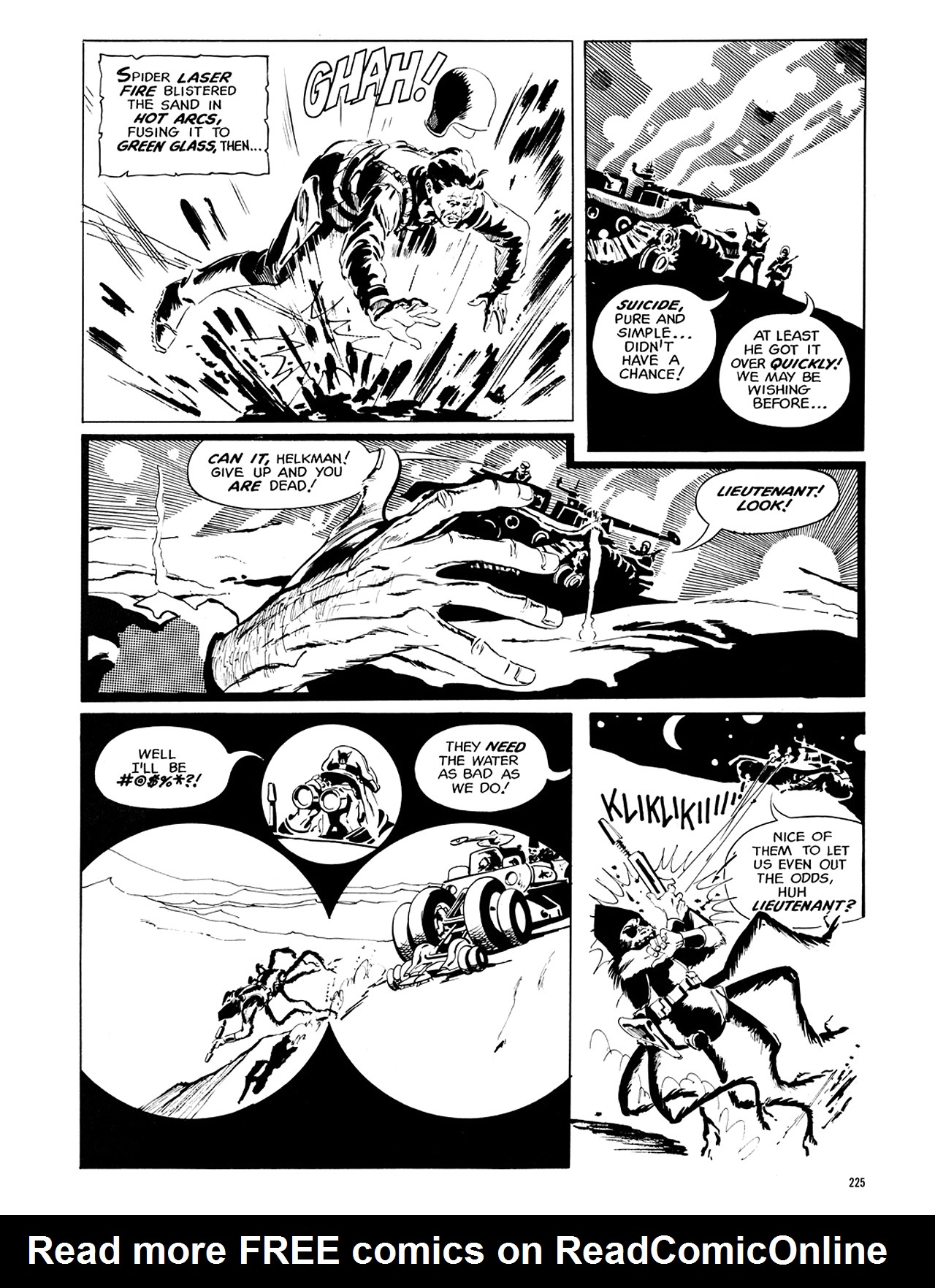 Read online Eerie Archives comic -  Issue # TPB 6 - 224