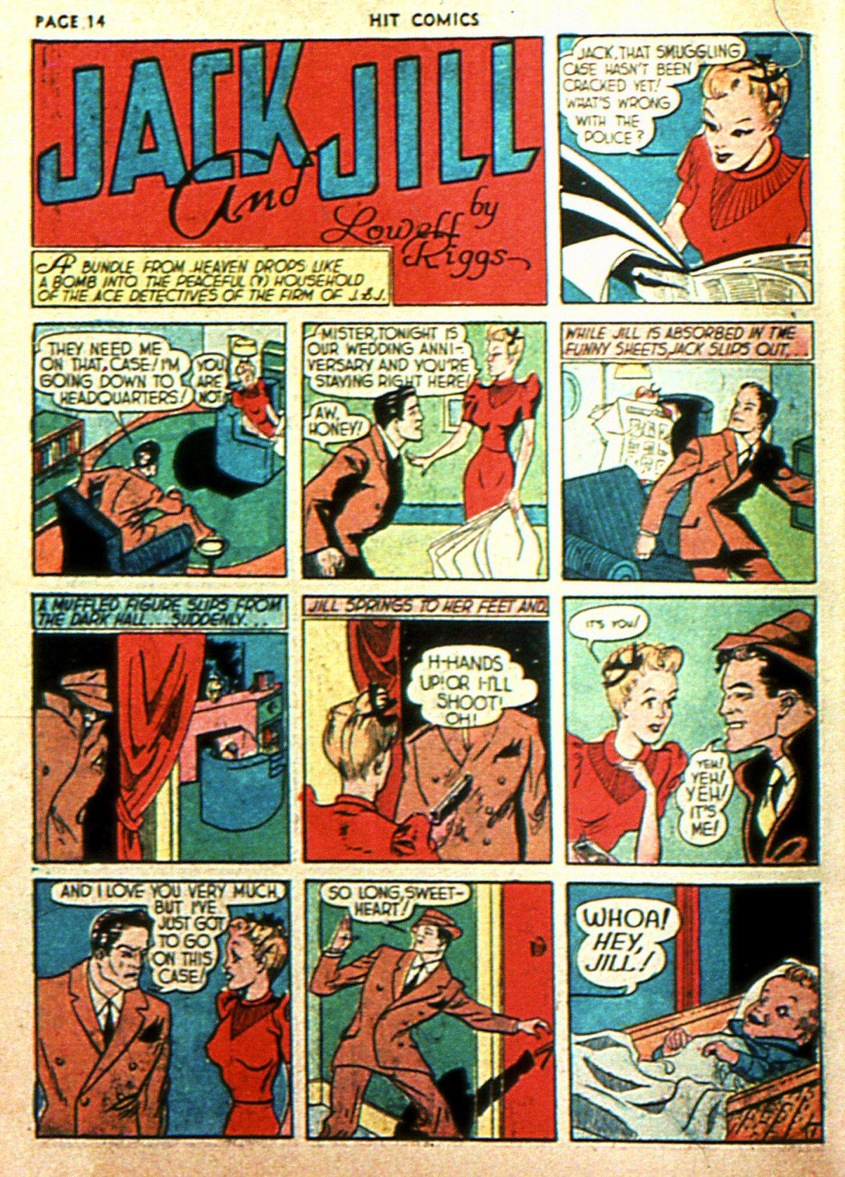 Read online Hit Comics comic -  Issue #2 - 16
