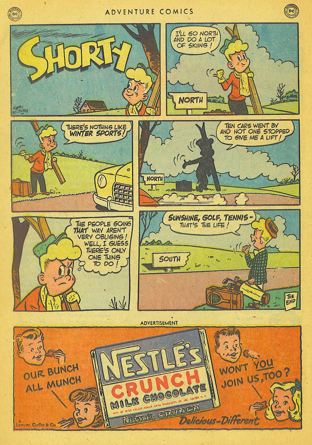 Read online Adventure Comics (1938) comic -  Issue #153 - 35