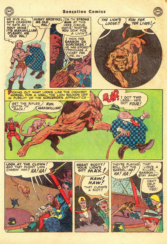 Read online Sensation (Mystery) Comics comic -  Issue #57 - 29
