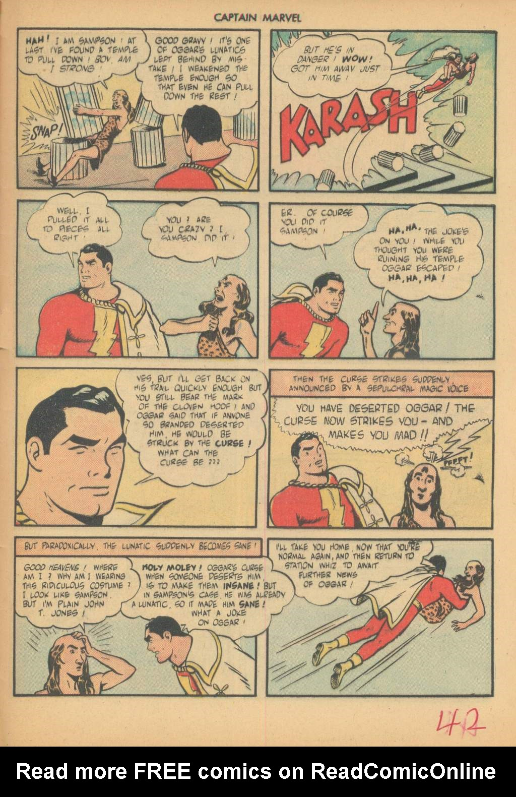 Captain Marvel Adventures issue 63 - Page 45