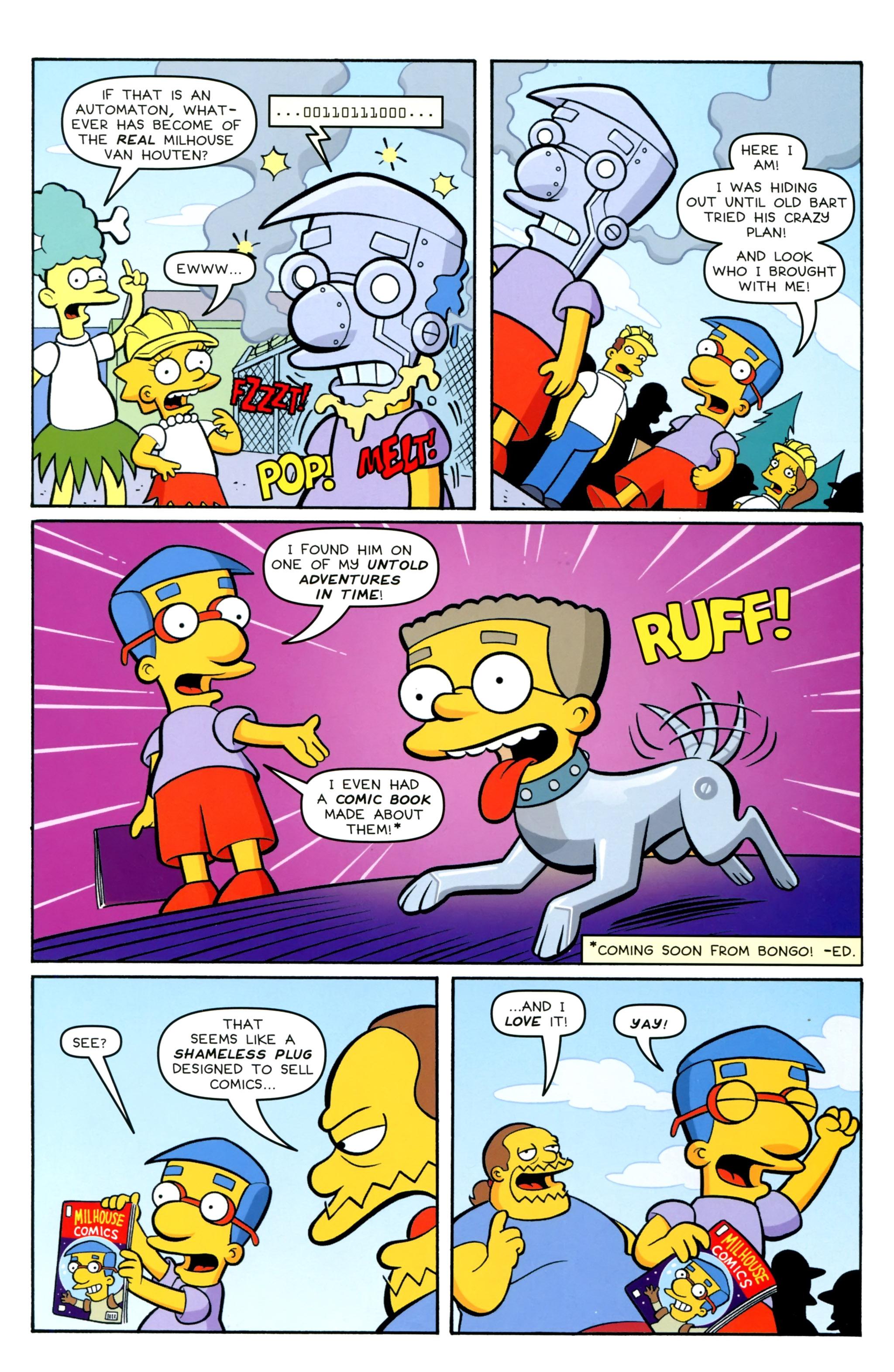 Read online Simpsons Comics Presents Bart Simpson comic -  Issue #100 - 38