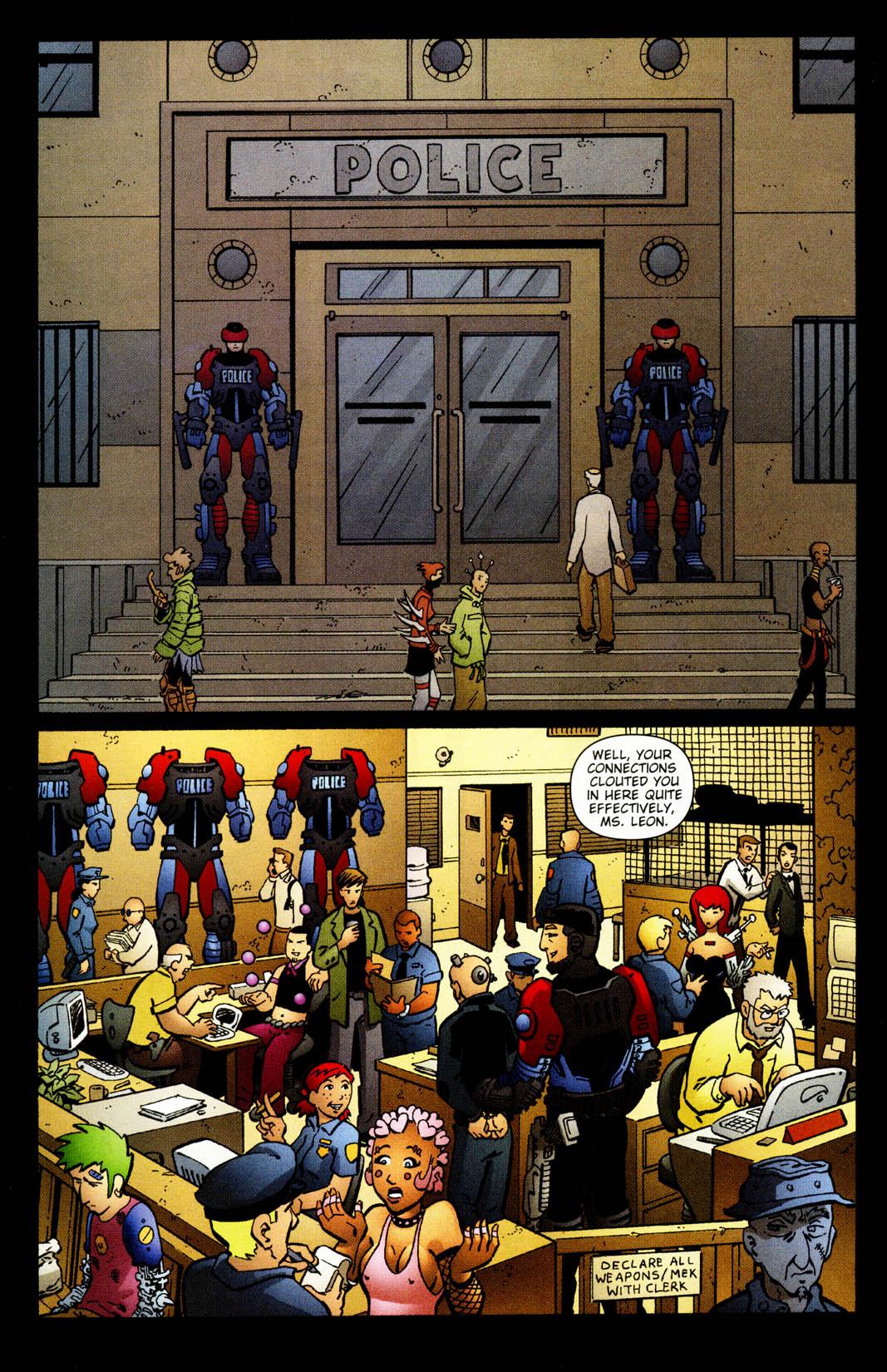 Read online Mek comic -  Issue #2 - 22