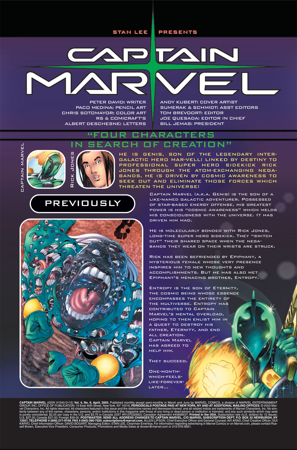 Captain Marvel (2002) Issue #6 #6 - English 2