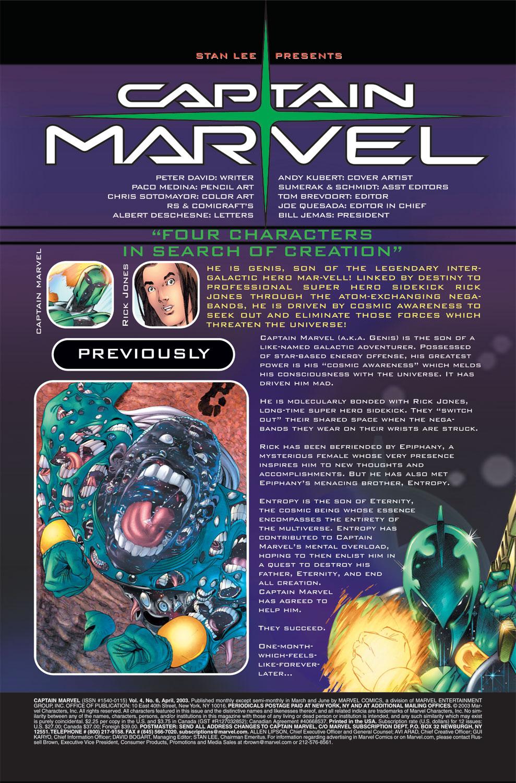 Captain Marvel (2002) Issue #6 #6 - English 2