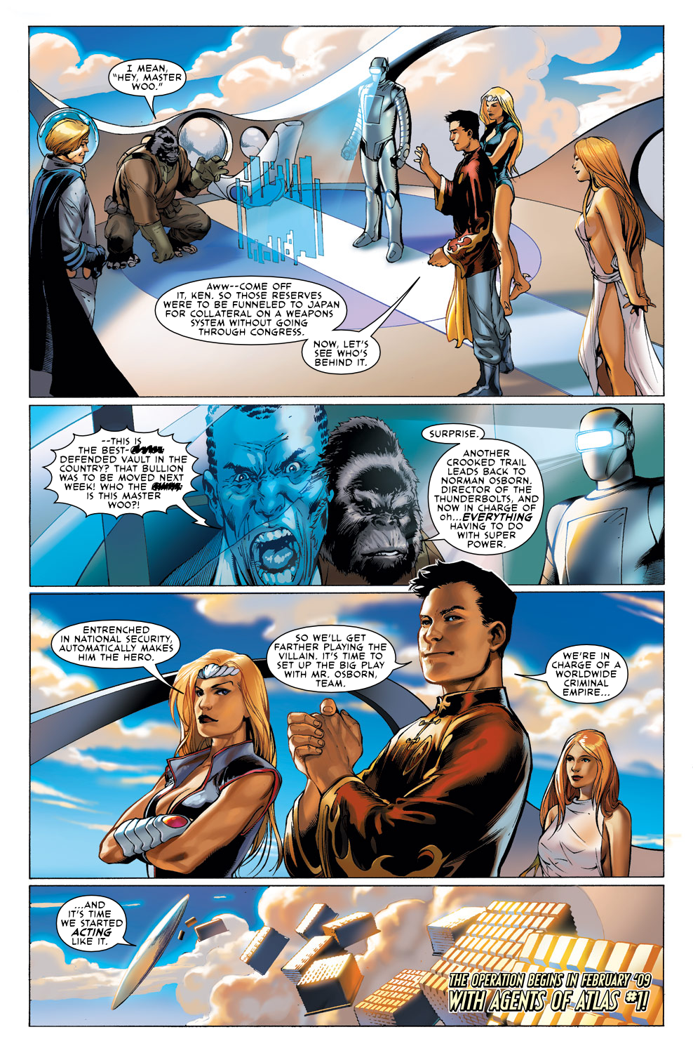 Read online Agents Of Atlas (2009) comic -  Issue #0 - 17