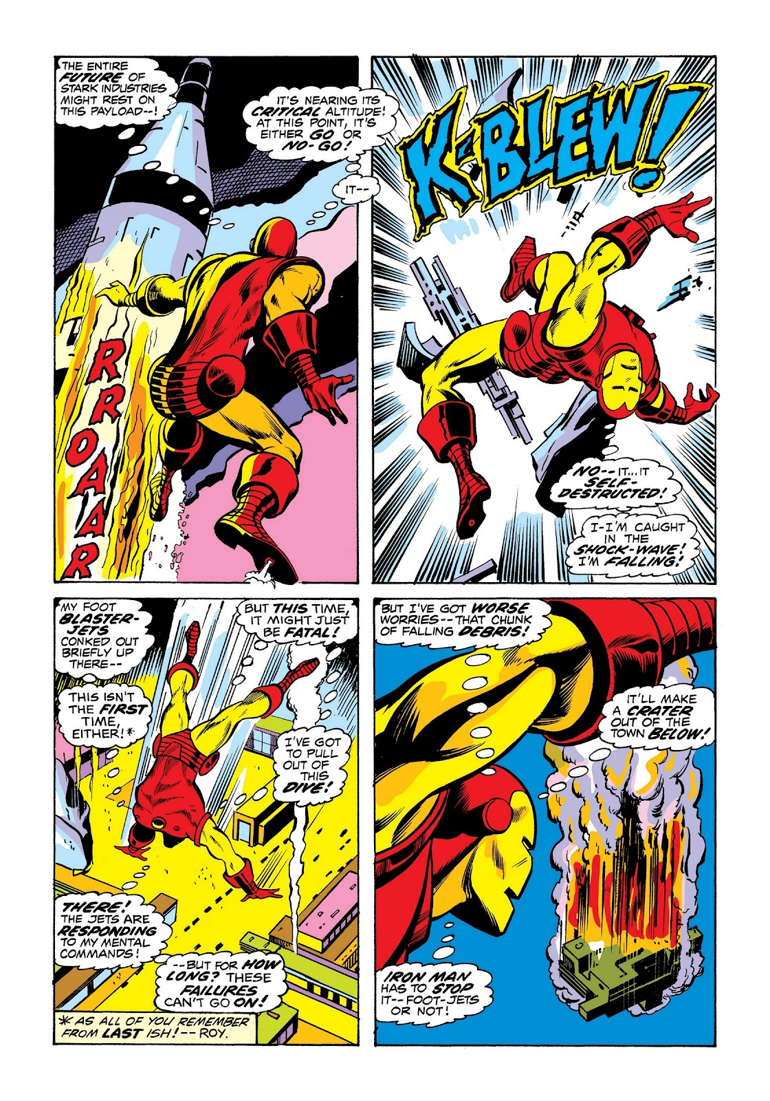 Read online Marvel Masterworks: The Invincible Iron Man comic -  Issue # TPB 8 (Part 3) - 54