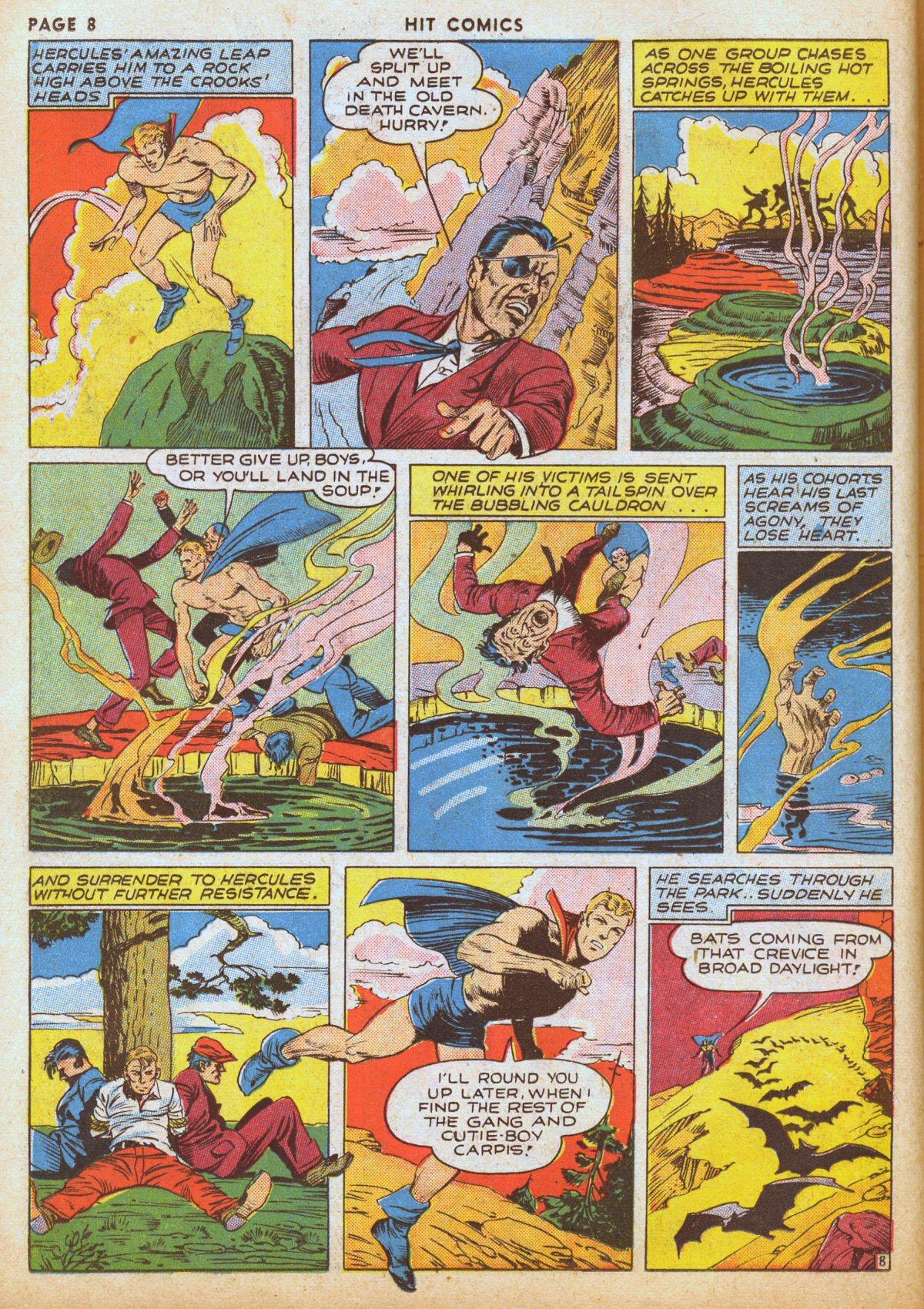 Read online Hit Comics comic -  Issue #12 - 10