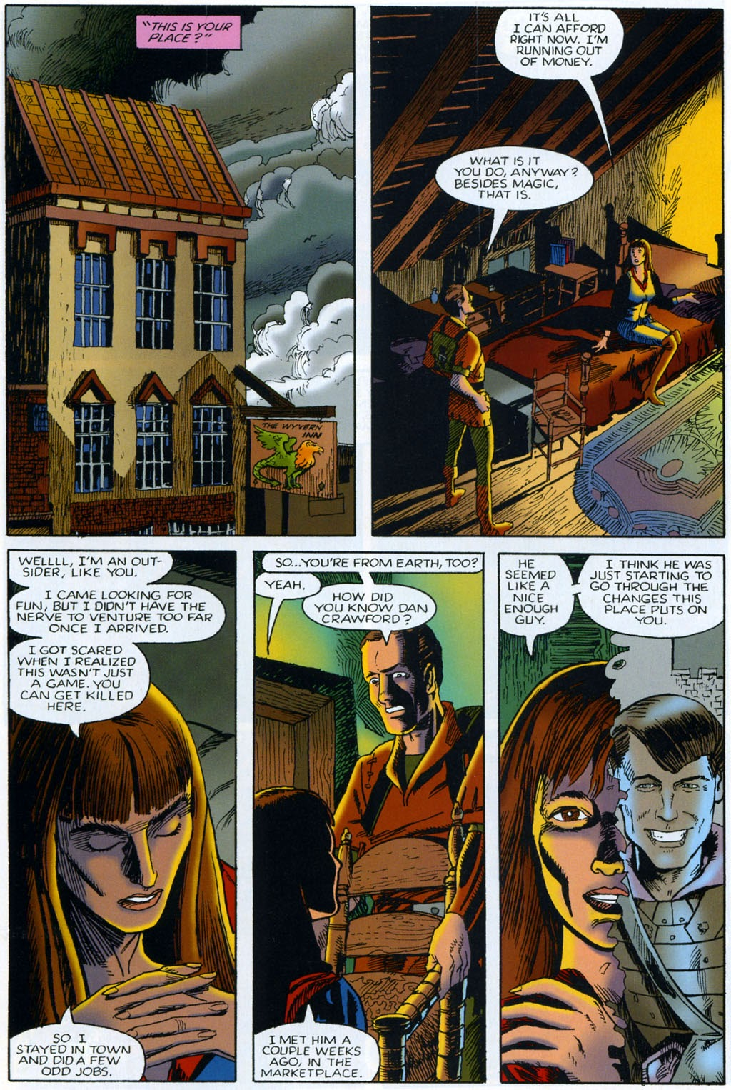 Read online Harsh Realm comic -  Issue #2 - 14
