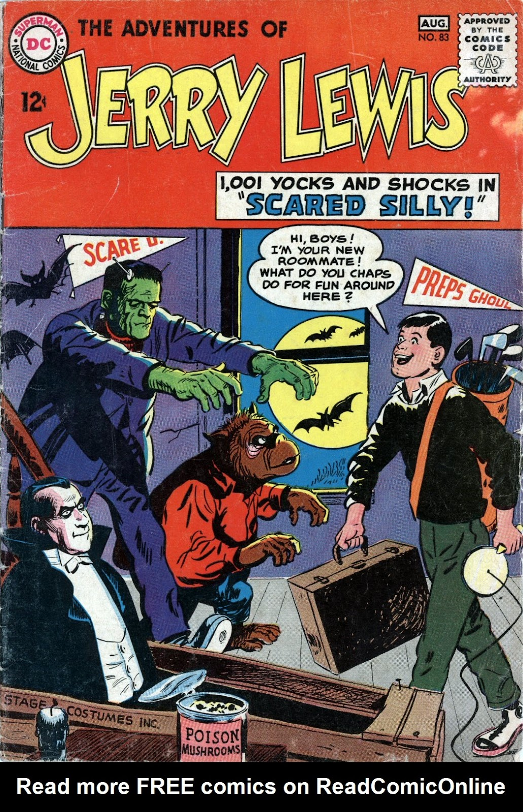 The Adventures of Jerry Lewis issue 83 - Page 1