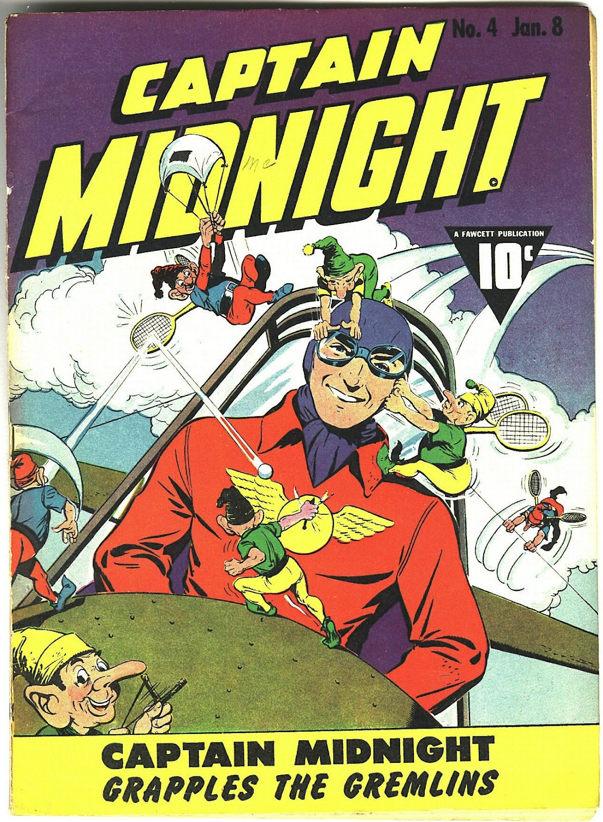 Captain Midnight (1942) issue 4 - Page 1
