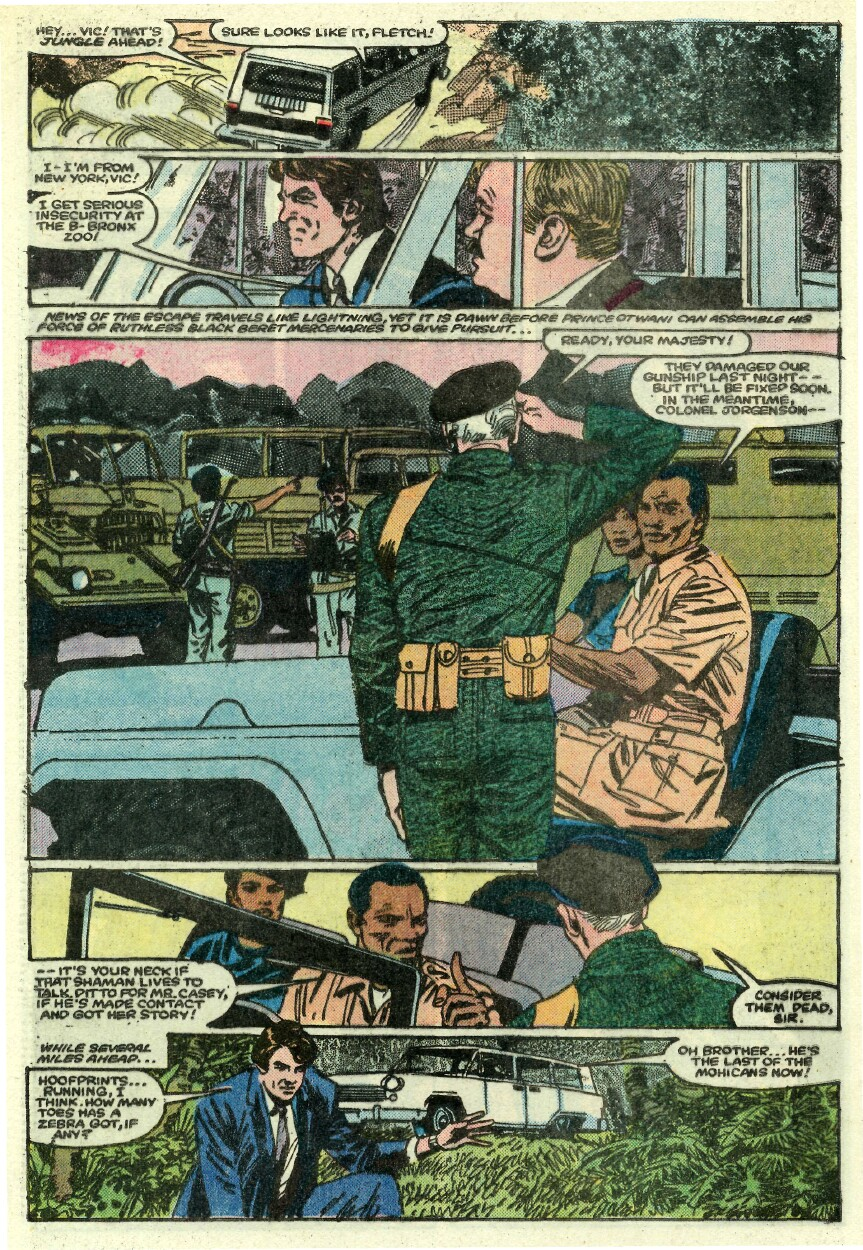 Read online Sheena comic -  Issue #1 - 24
