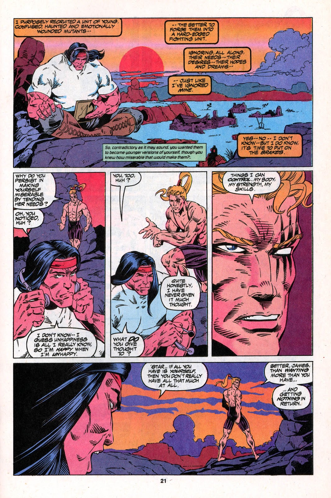 X-Force (1991) Issue #26 #31 - English 21