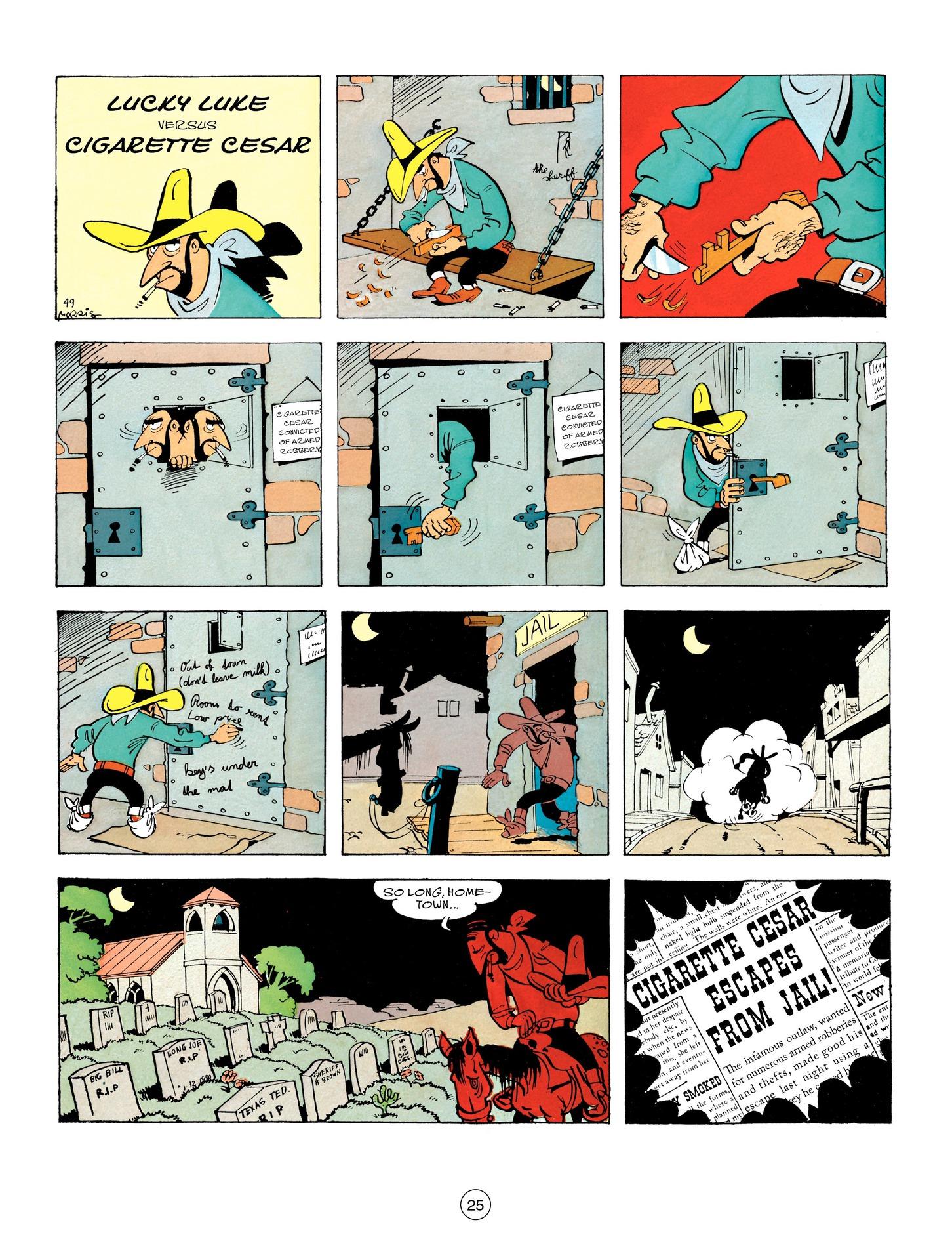 Read online A Lucky Luke Adventure comic -  Issue #55 - 25