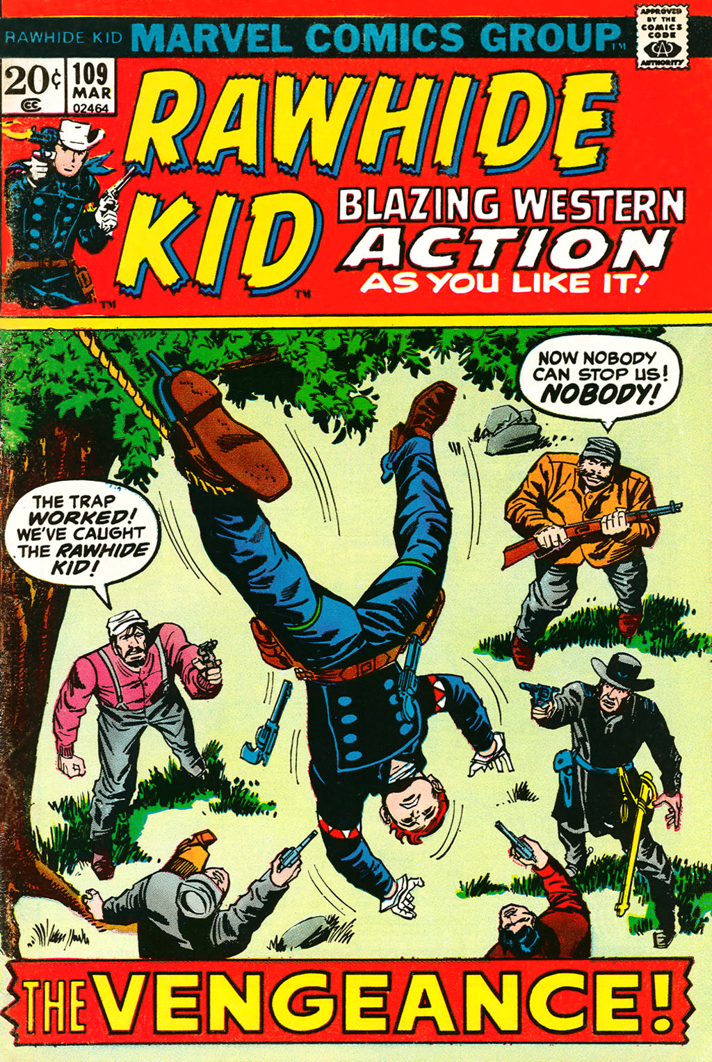 The Rawhide Kid (1955) issue 109 - Page 1