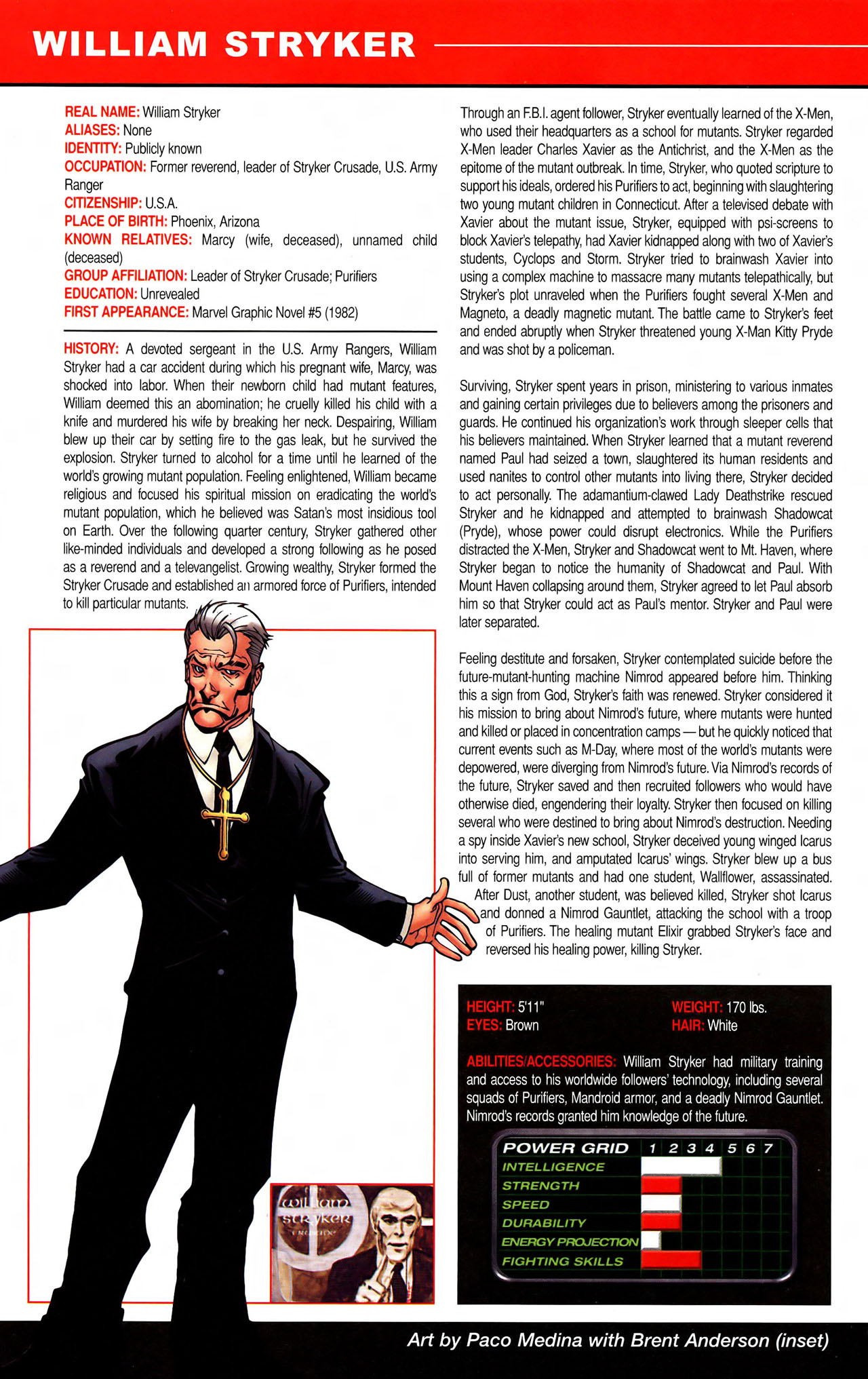 Read online All-New Official Handbook of the Marvel Universe A to Z comic -  Issue #11 - 10