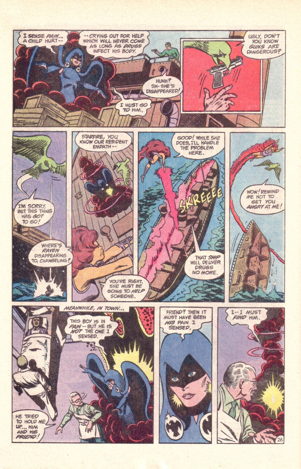 Read online The New Teen Titans (Drug Awareness Specials) comic -  Issue #1 - 28