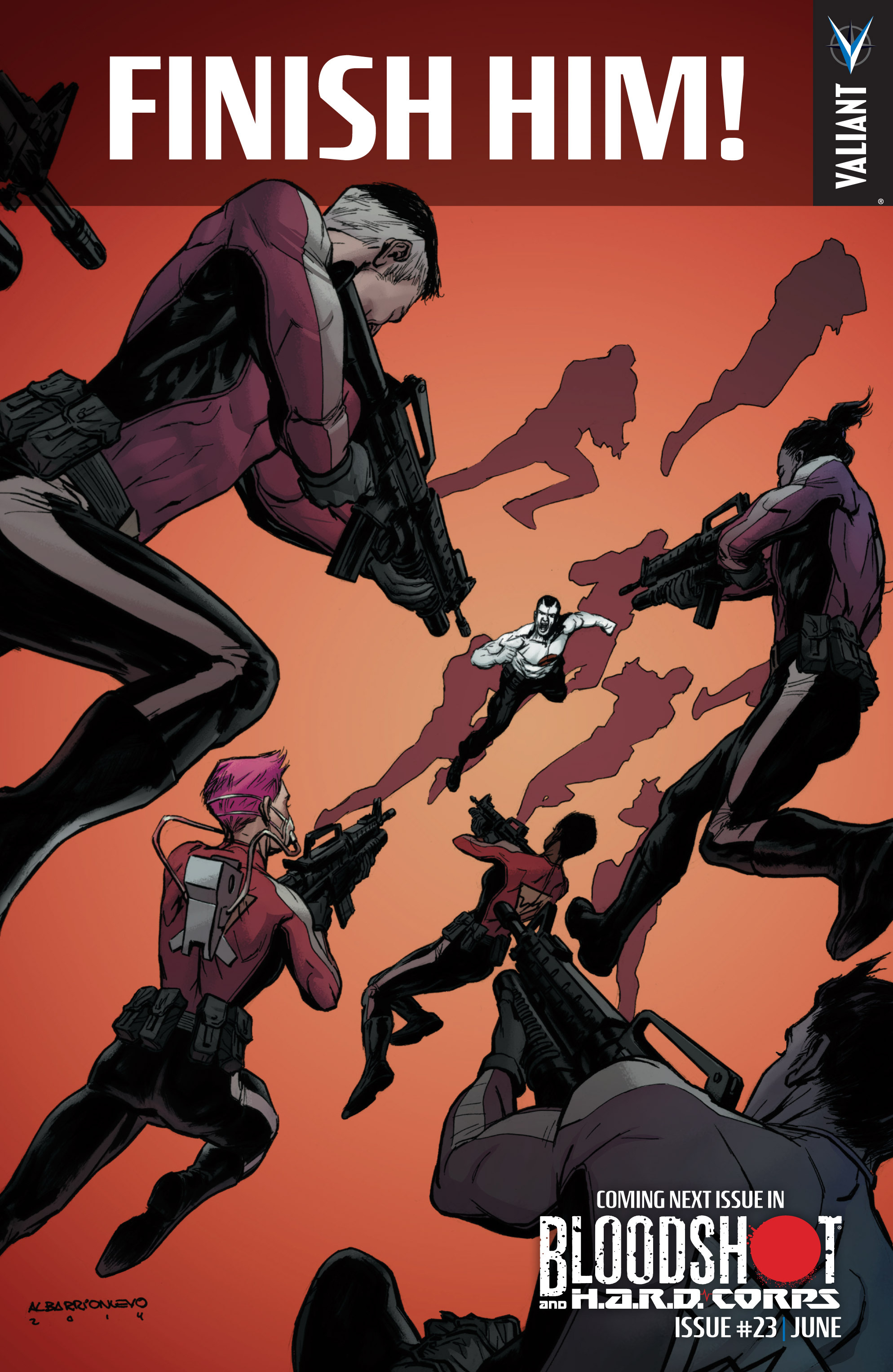 Read online Bloodshot and H.A.R.D.Corps comic -  Issue #22 - 25
