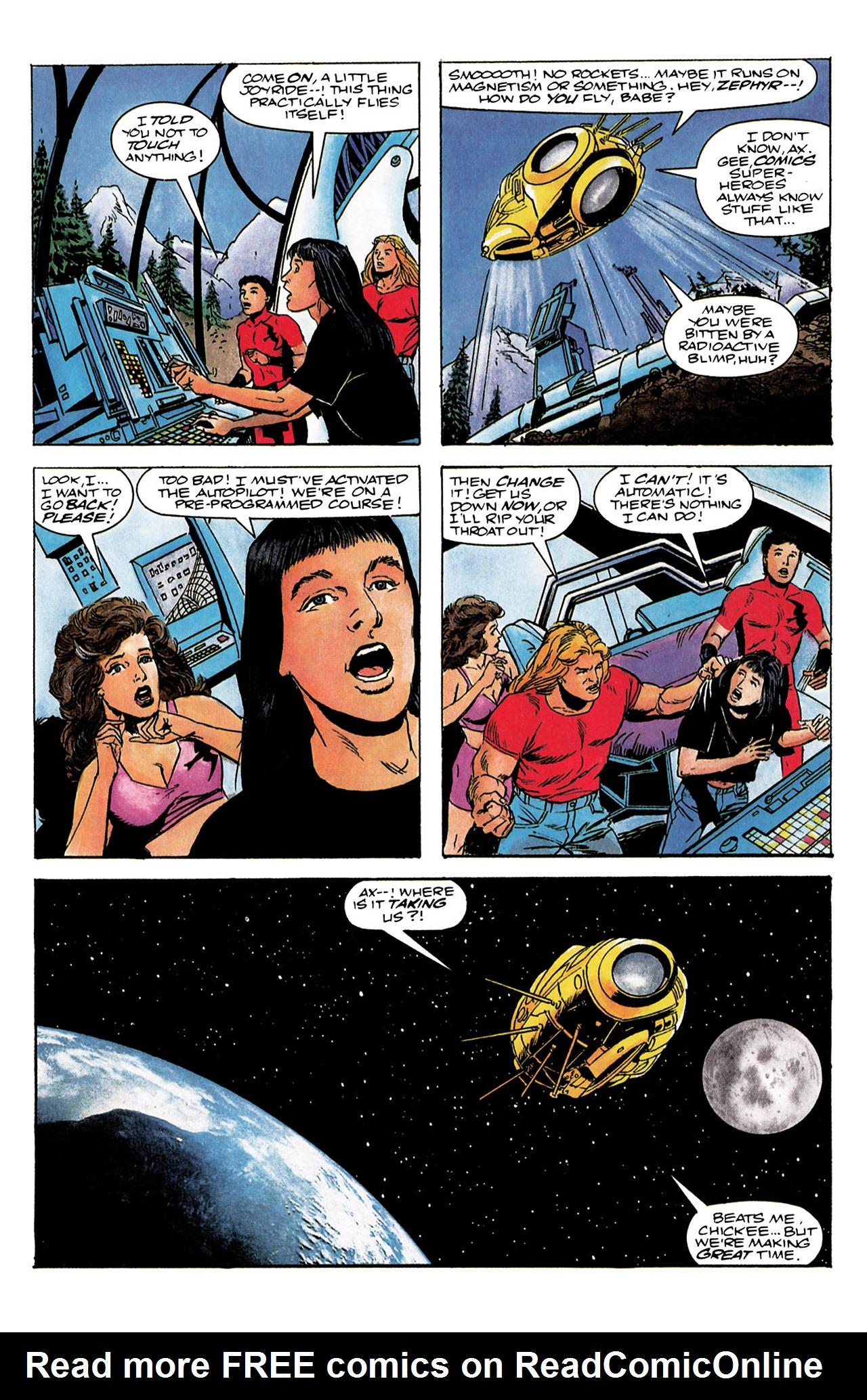 Read online Harbinger (1992) comic -  Issue #3 - 15