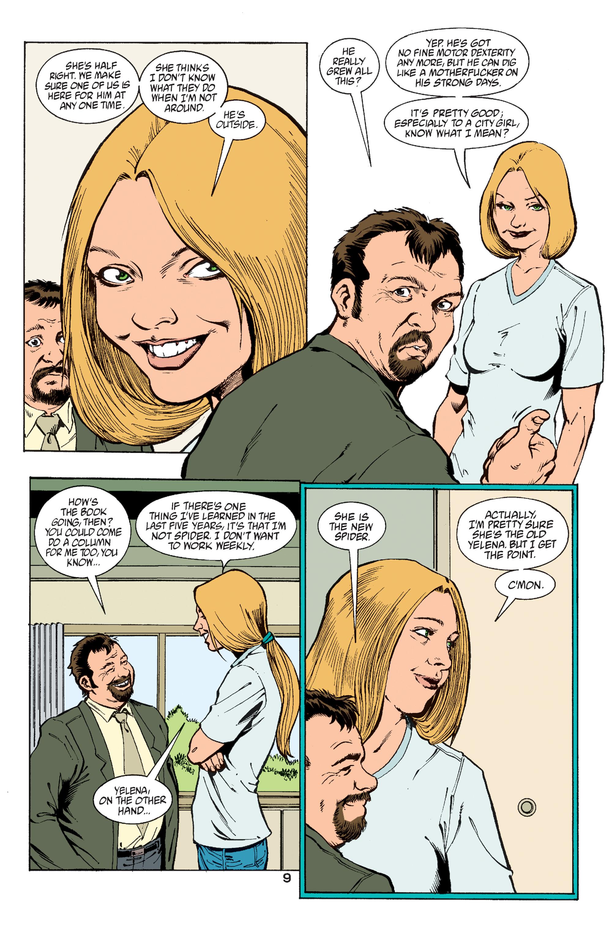 Read online Transmetropolitan comic -  Issue #60 - 9