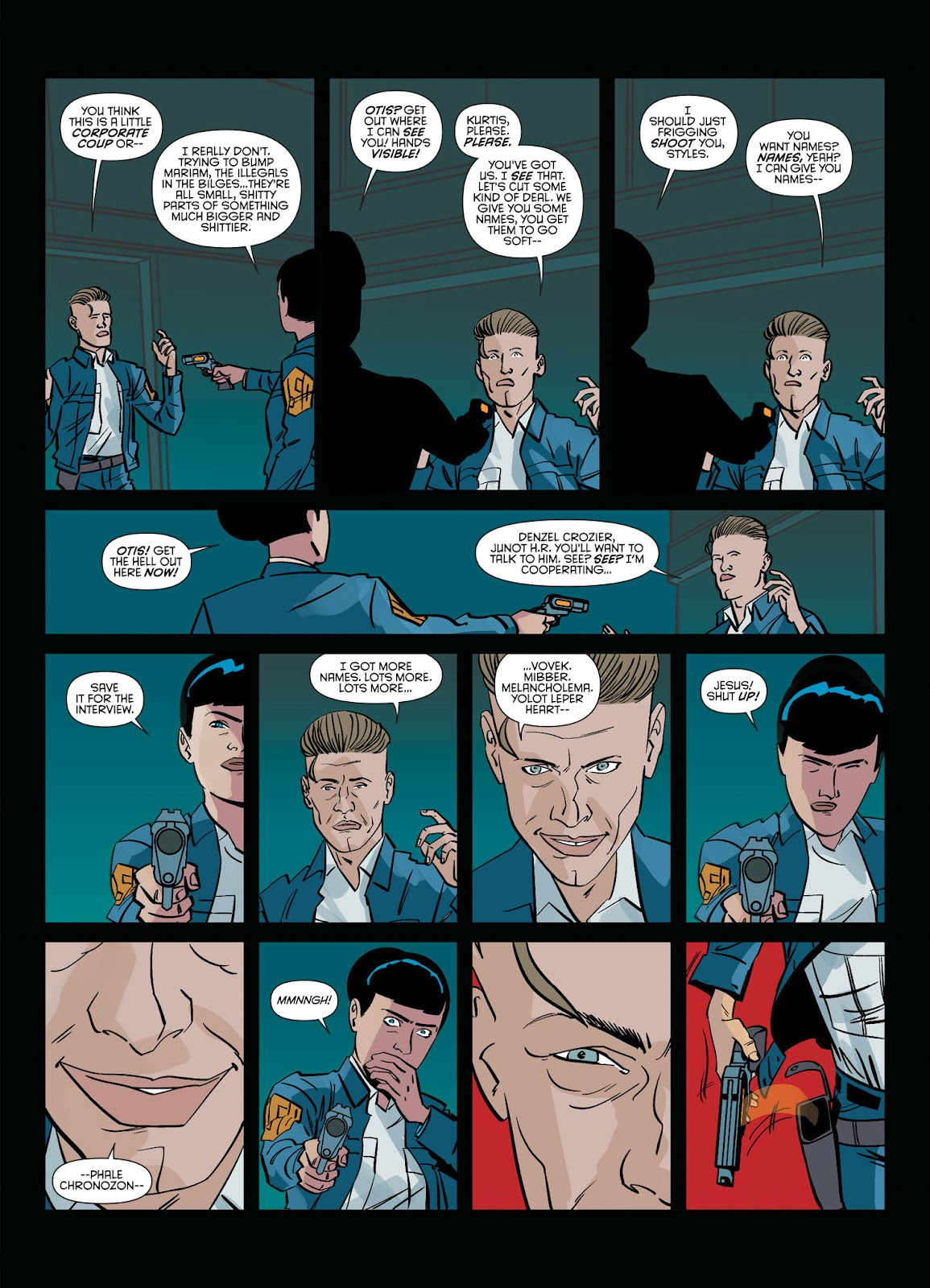 Read online Brink comic -  Issue # TPB 2 - 83