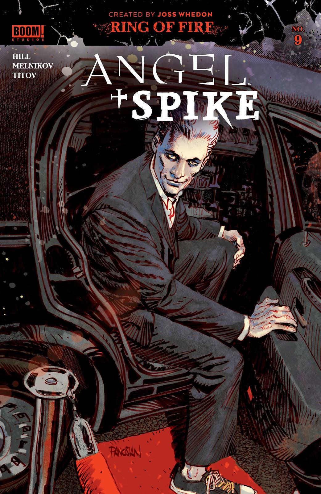 Read online Angel   Spike comic -  Issue #9 - 1