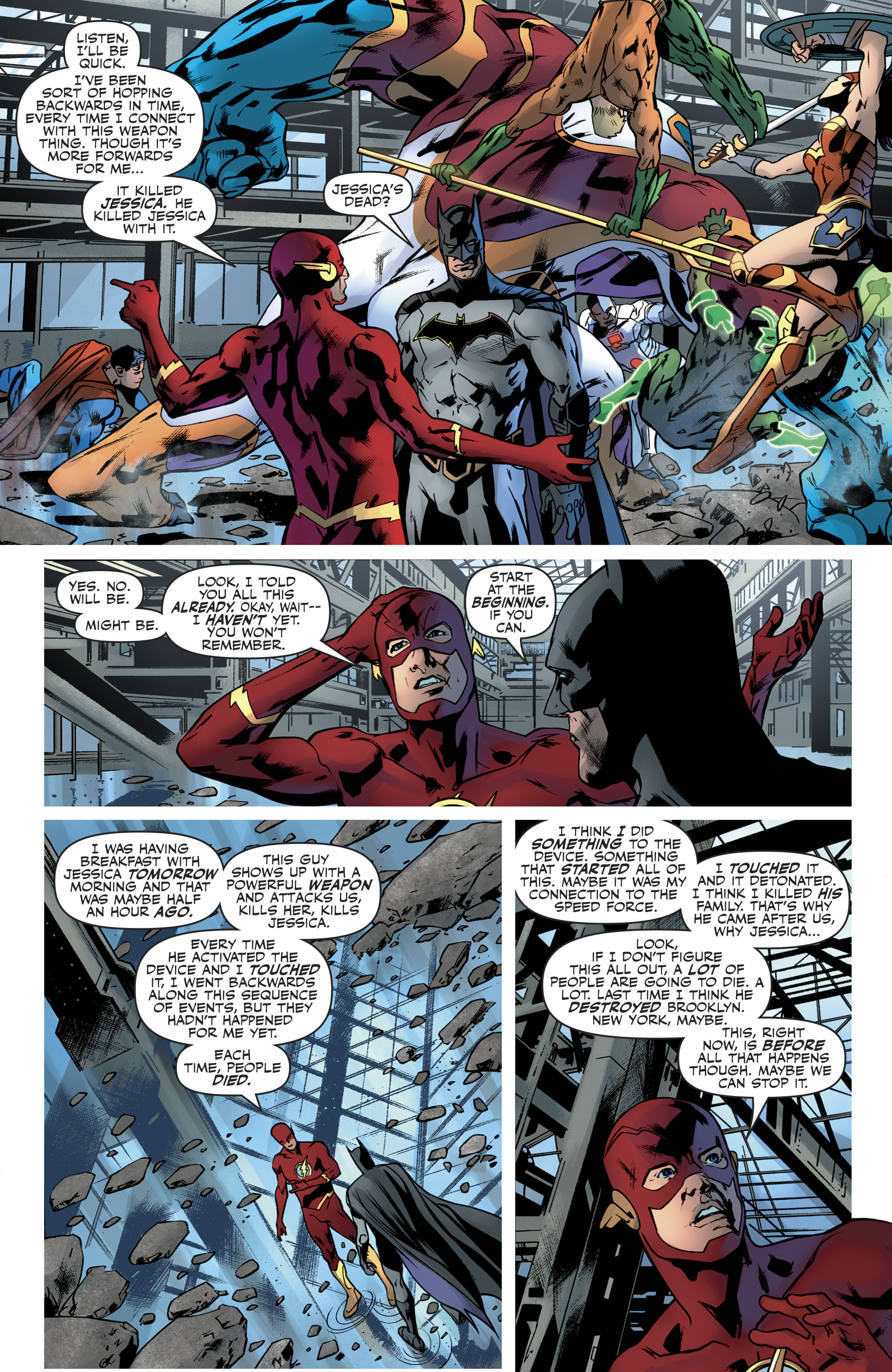 Read online Justice League (2016) comic -  Issue #21 - 8