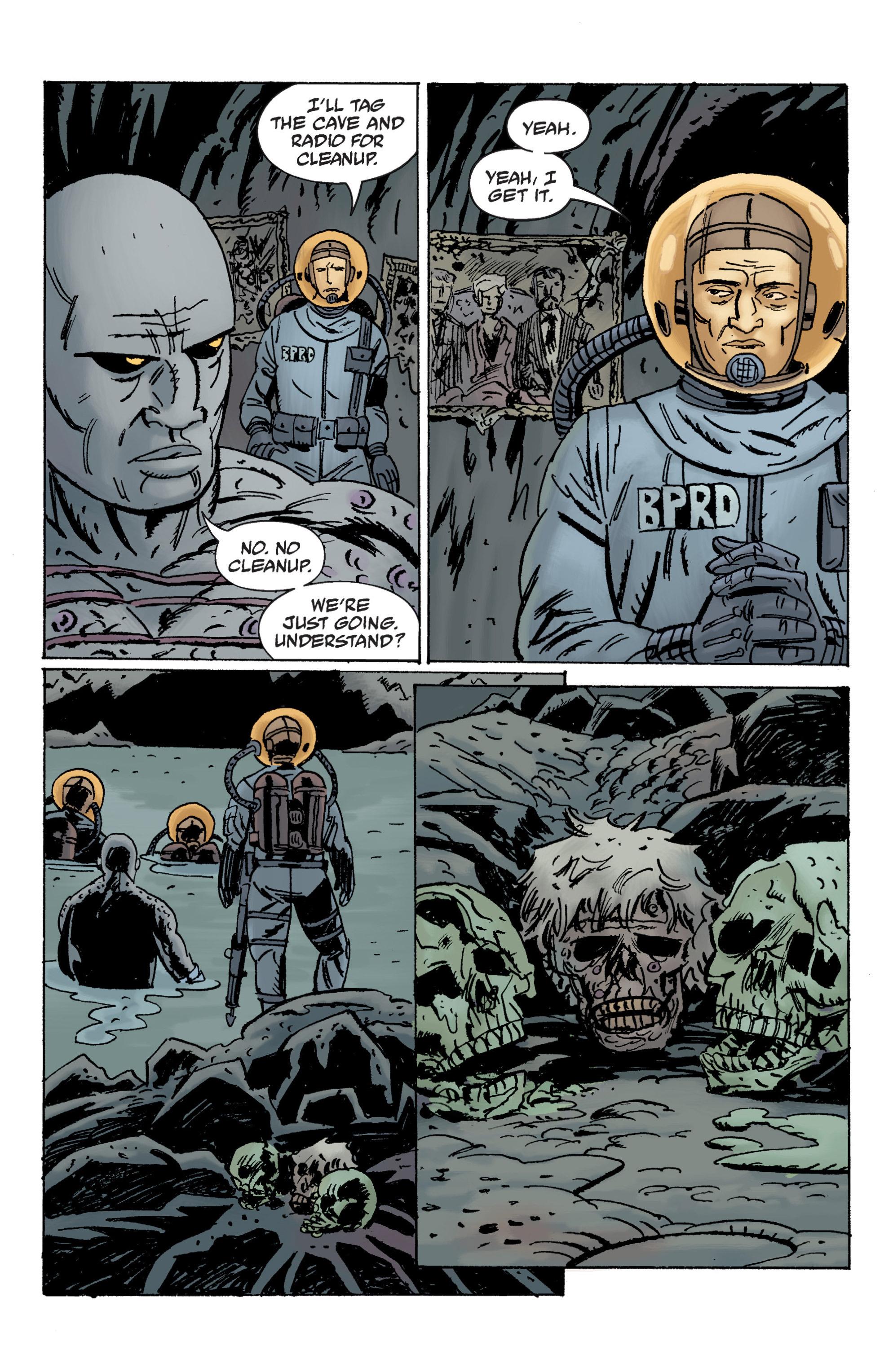 Read online B.P.R.D. (2003) comic -  Issue # TPB 12 - 32