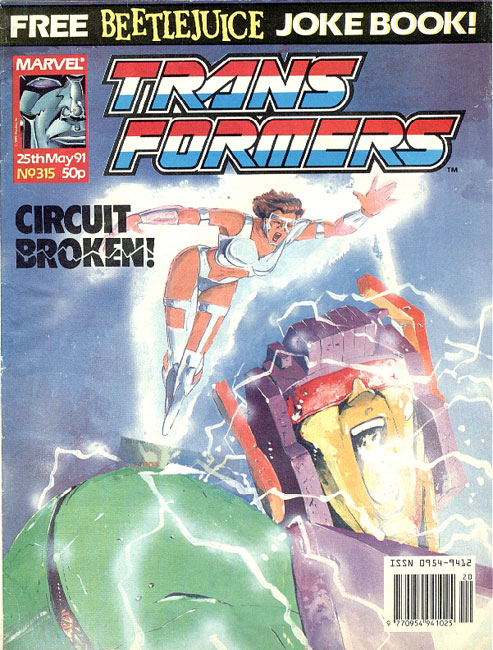 The Transformers (UK) 315 Page 1