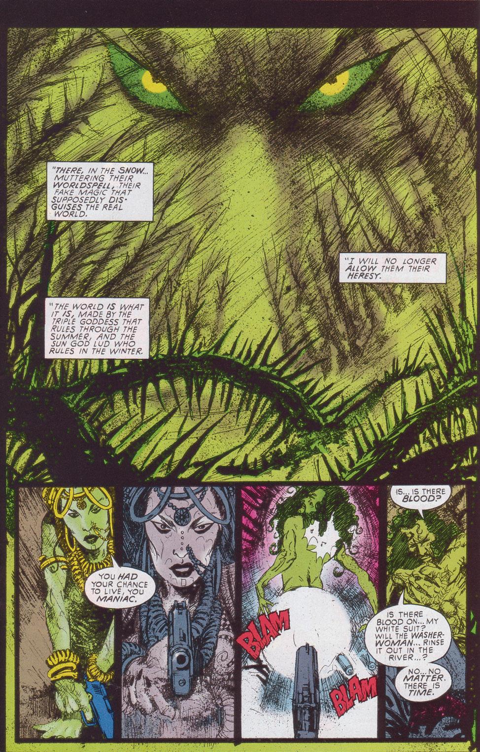 Read online Druid comic -  Issue #4 - 18