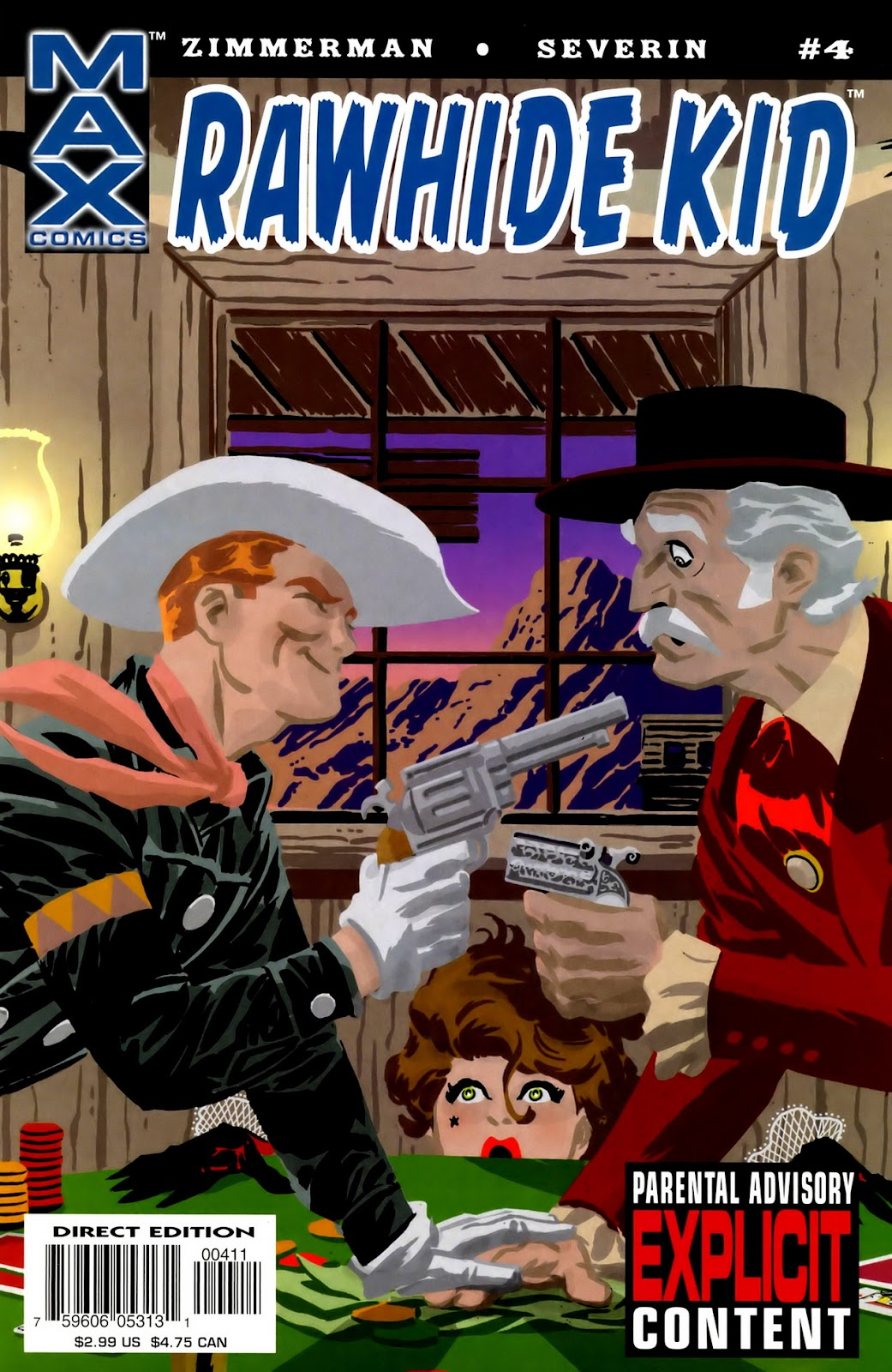 Rawhide Kid (2003) issue 4 - Page 1