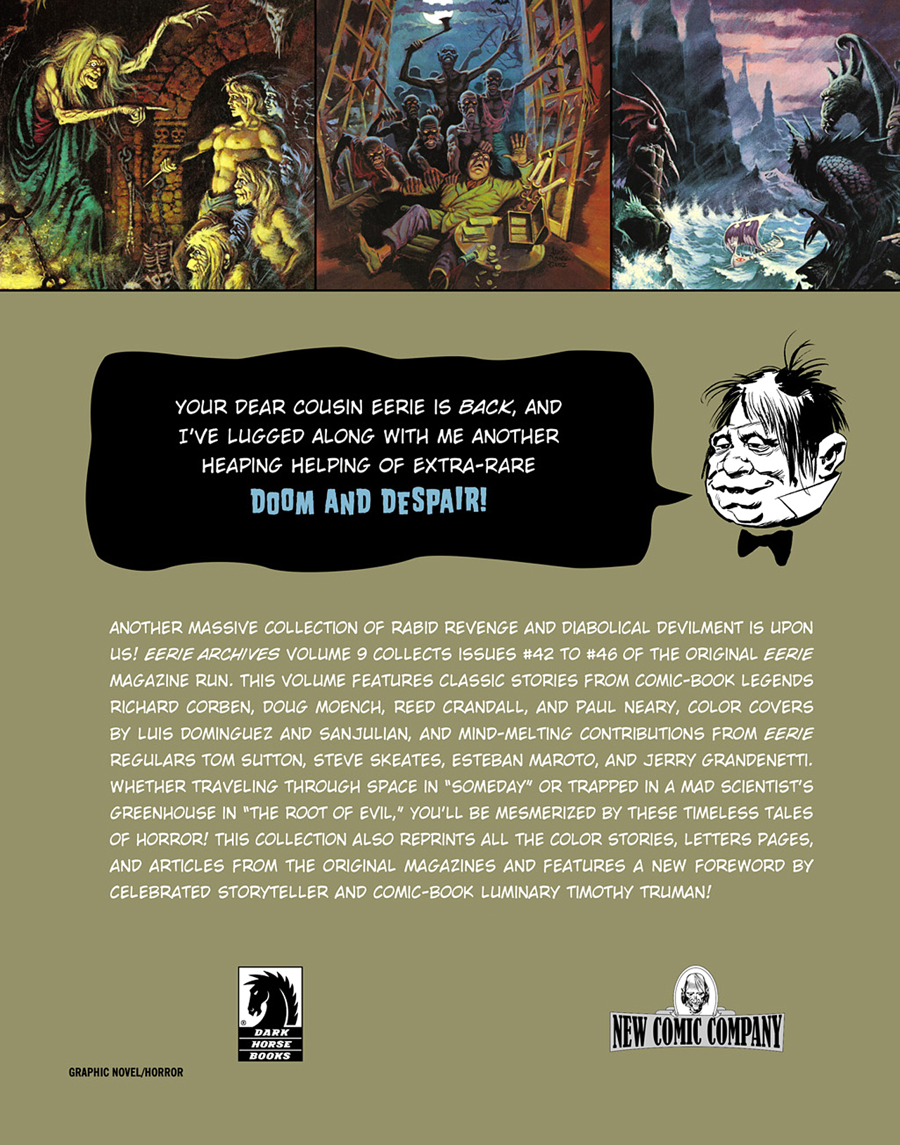 Read online Eerie Archives comic -  Issue # TPB 9 - 274