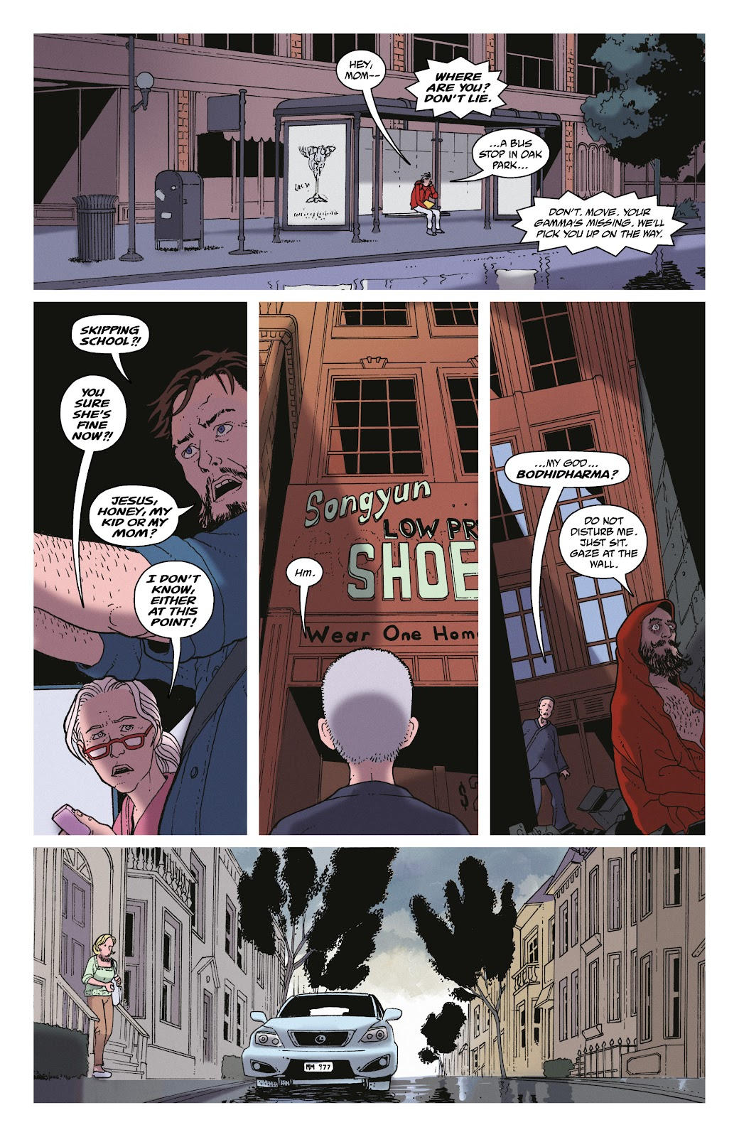 Read online She Could Fly comic -  Issue # _TPB - 67