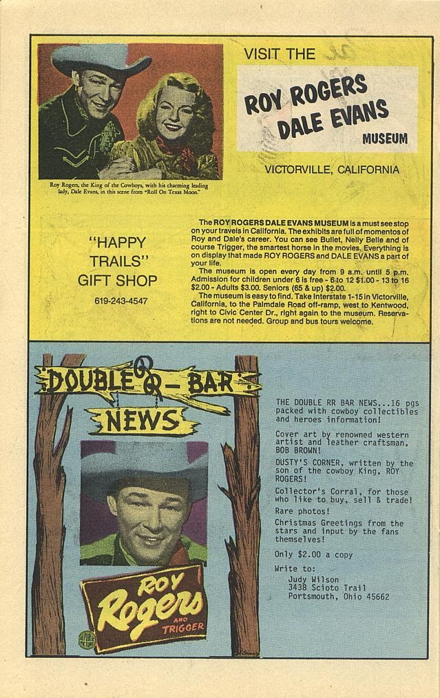 Read online Roy Rogers comic -  Issue #3 - 31