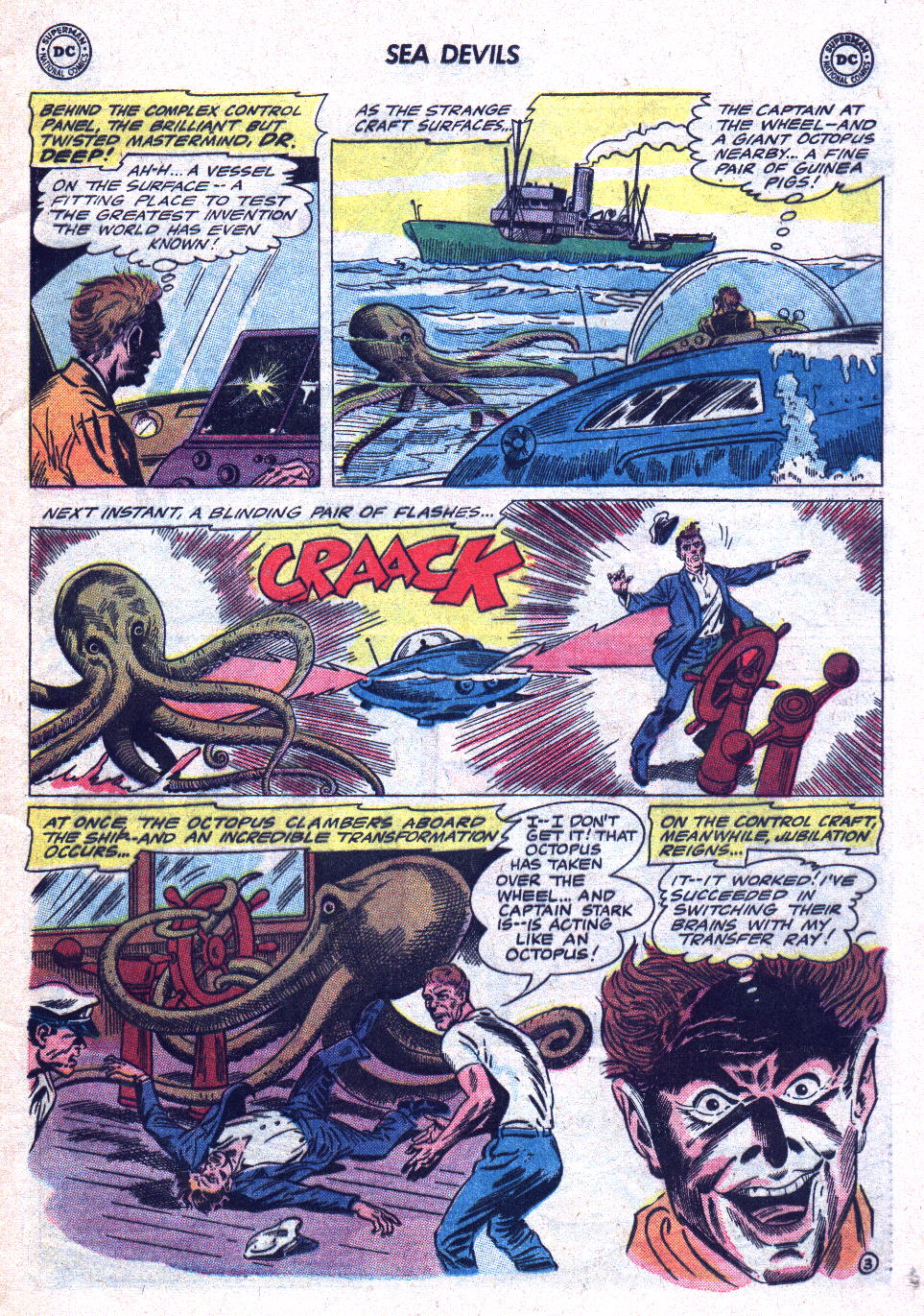 Read online Sea Devils comic -  Issue #19 - 5