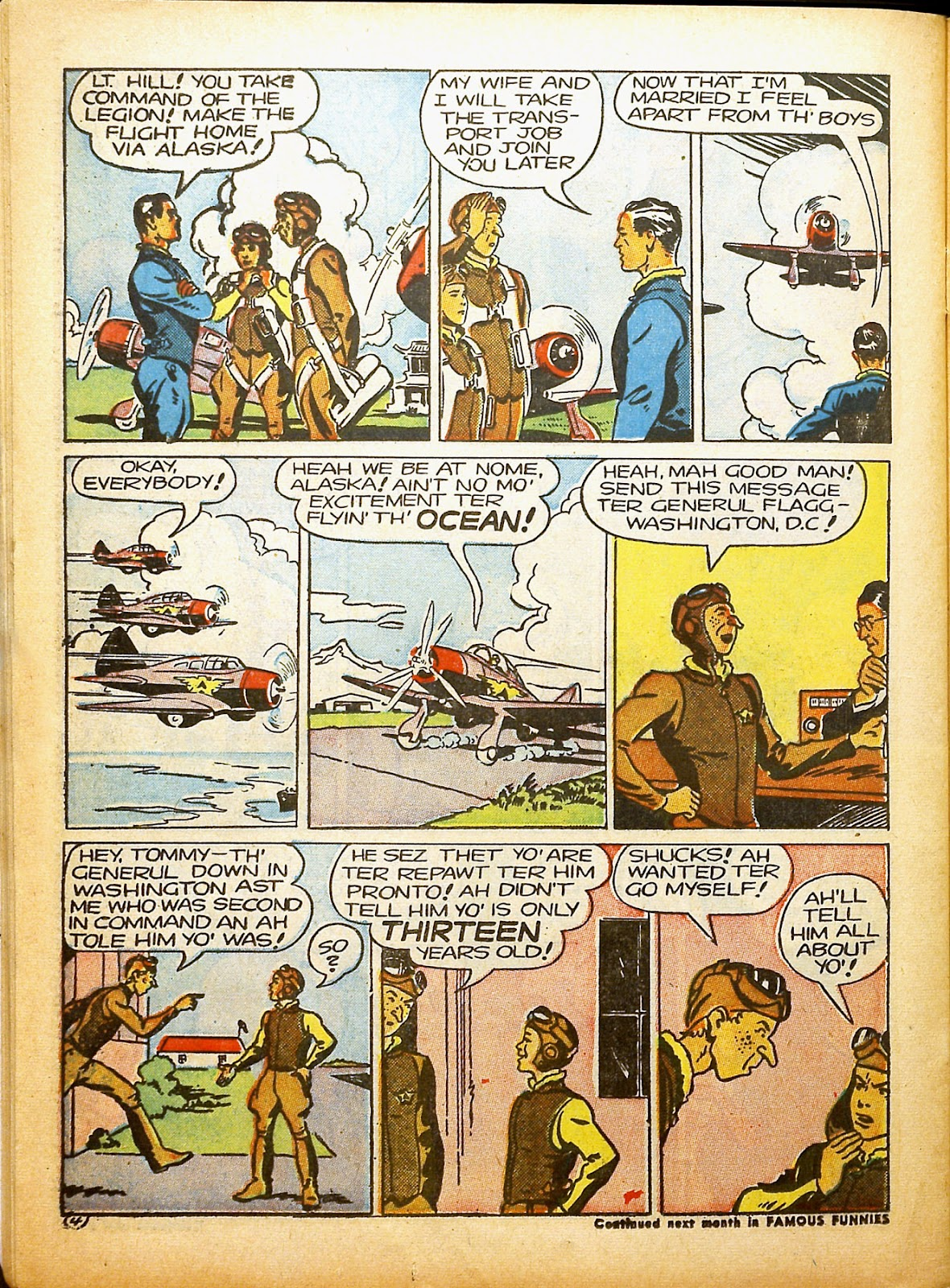 Read online Famous Funnies comic -  Issue #91 - 49