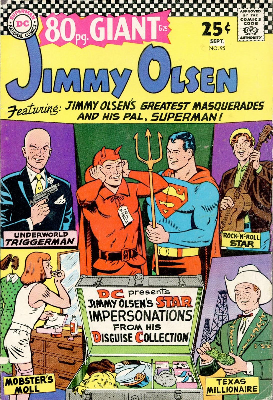 Supermans Pal Jimmy Olsen (1954) 95 Page 1