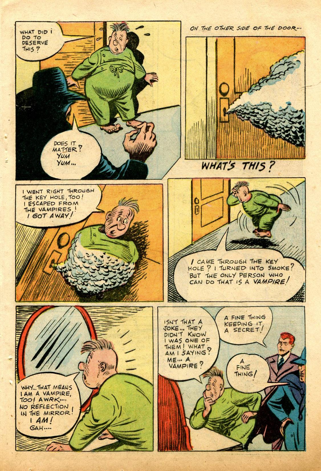 Read online Shadow Comics comic -  Issue #74 - 35