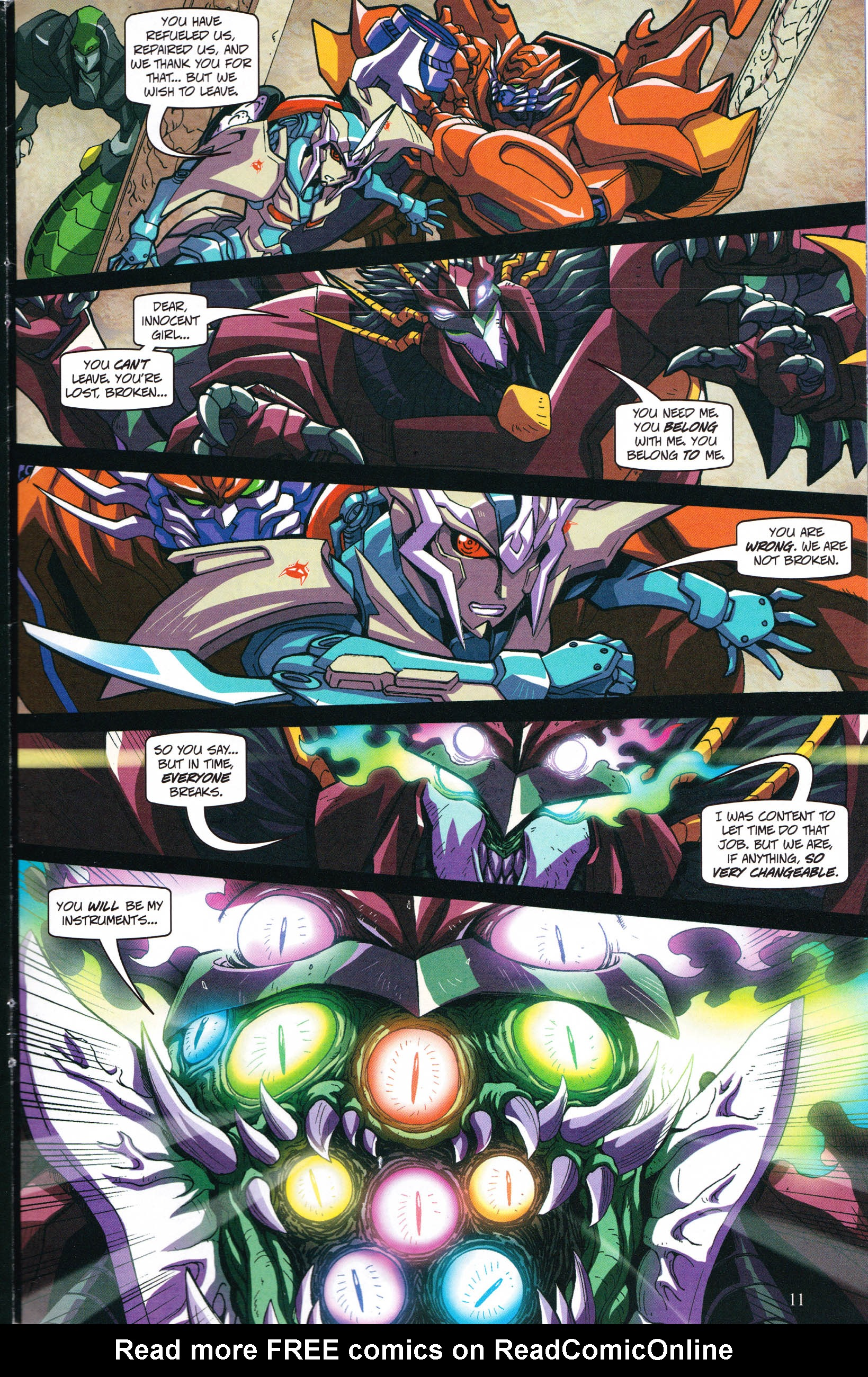 Read online Transformers: Collectors' Club comic -  Issue #59 - 11